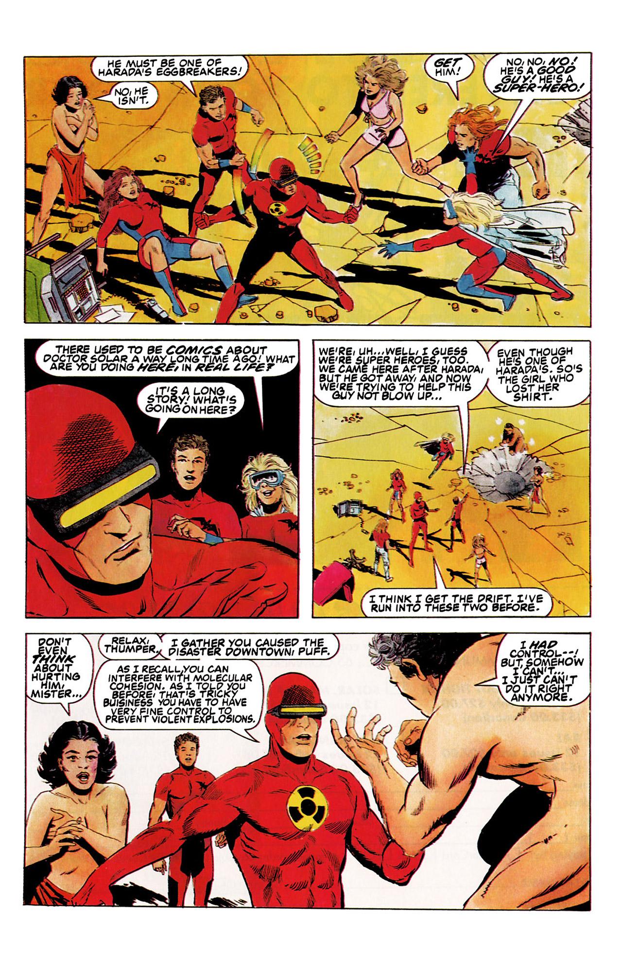 Read online Harbinger (1992) comic -  Issue #5 - 21