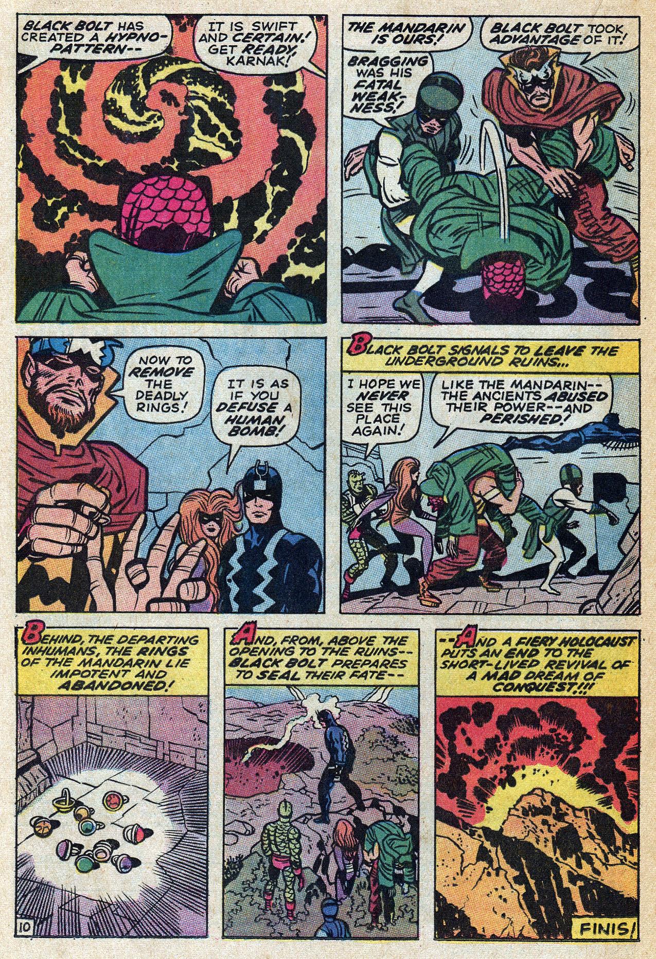Read online Amazing Adventures (1970) comic -  Issue #4 - 16