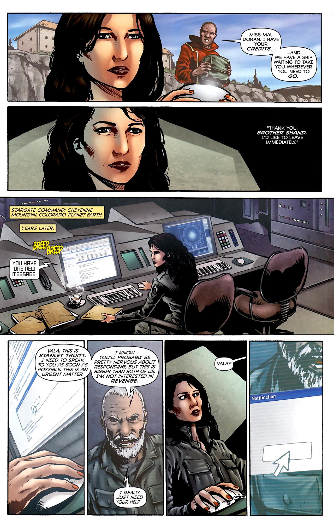Read online Stargate Vala Mal Doran comic -  Issue #3 - 17