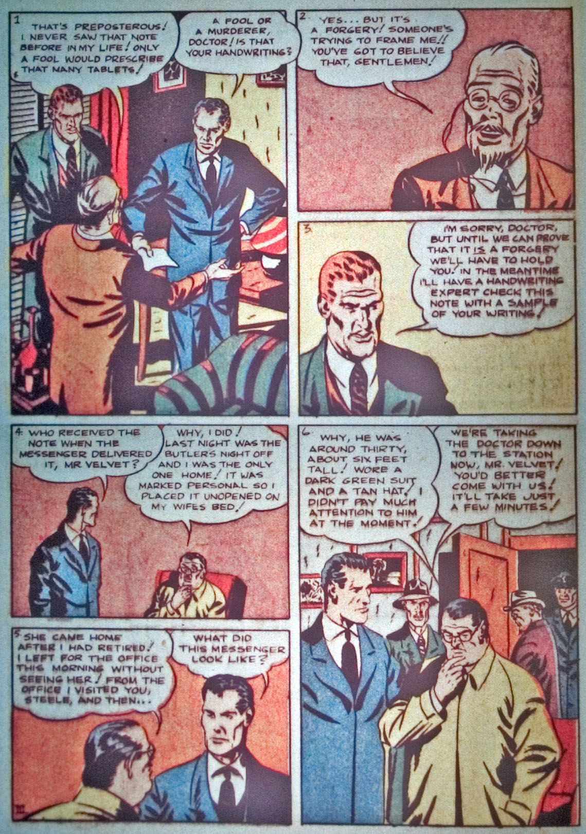 Read online Detective Comics (1937) comic -  Issue #31 - 30