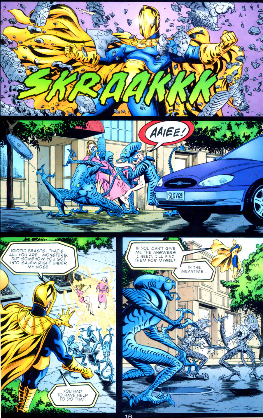 Read online Doctor Fate (2003) comic -  Issue #2 - 17