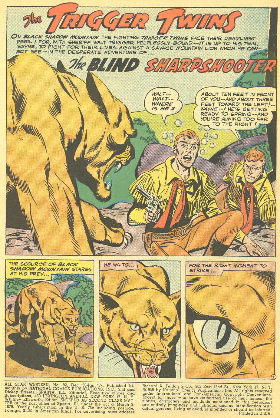 Read online All-Star Western (1951) comic -  Issue #92 - 3