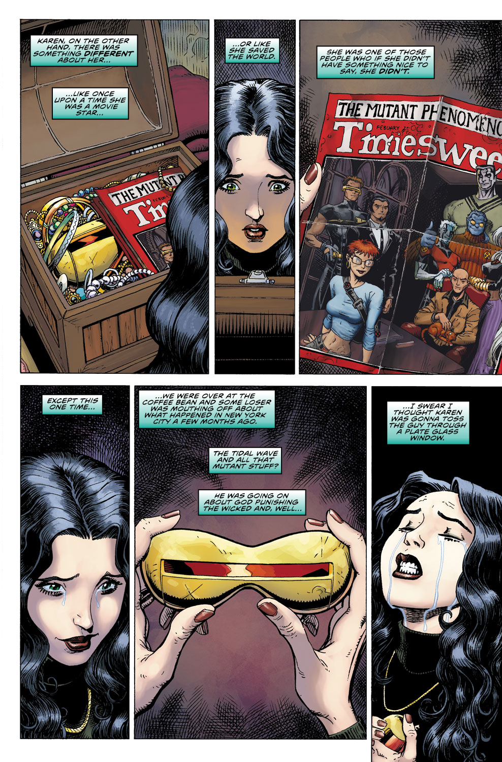 Read online Ultimate X comic -  Issue #2 - 5