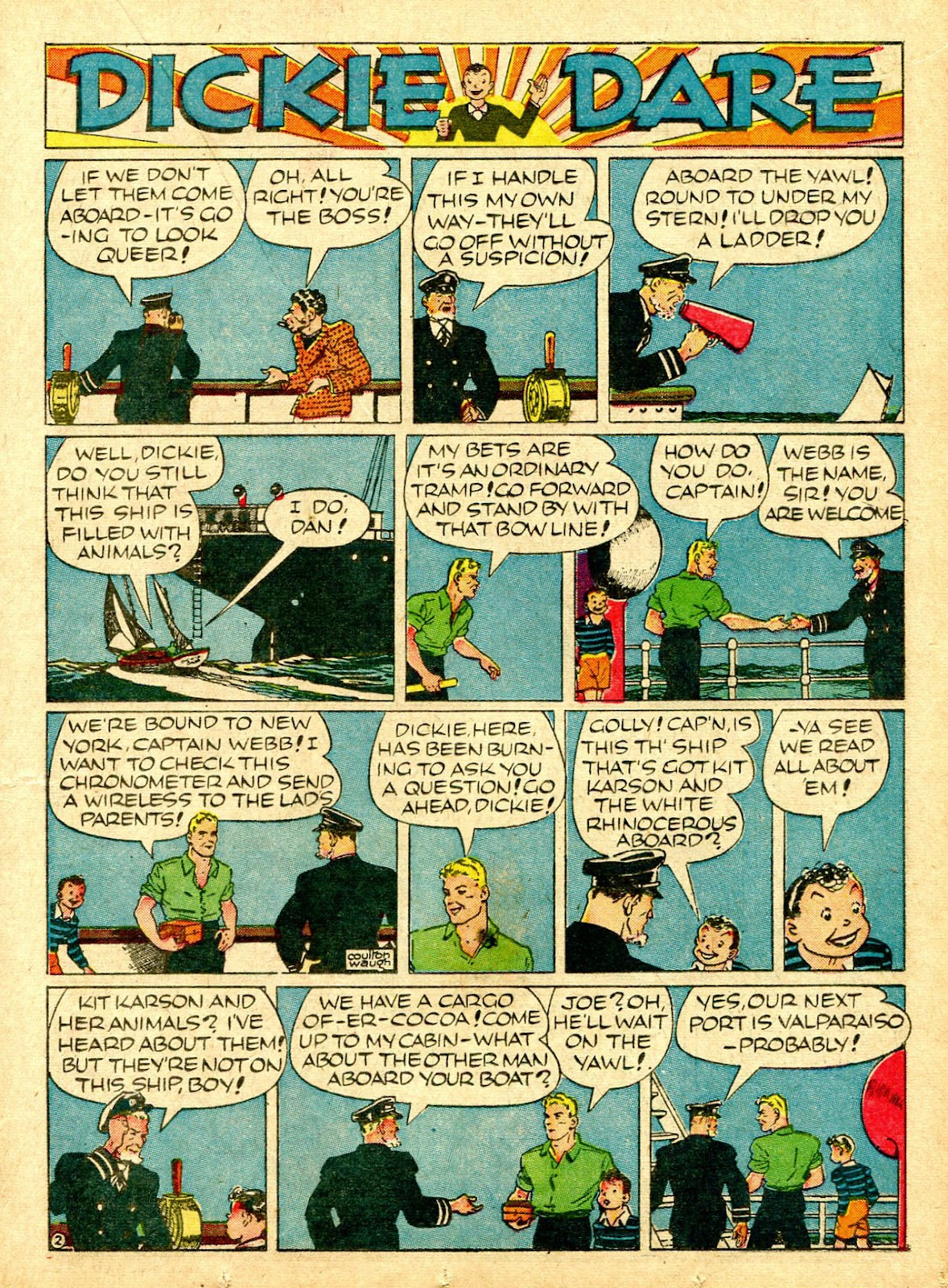 Read online Famous Funnies comic -  Issue #63 - 26