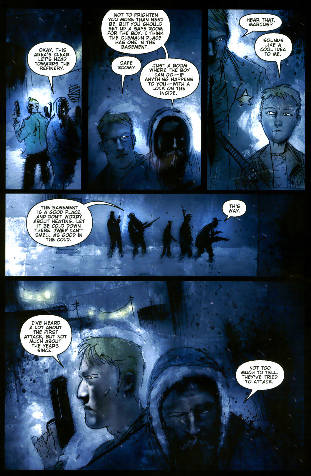 Read online 30 Days of Night: Return to Barrow comic -  Issue #3 - 19
