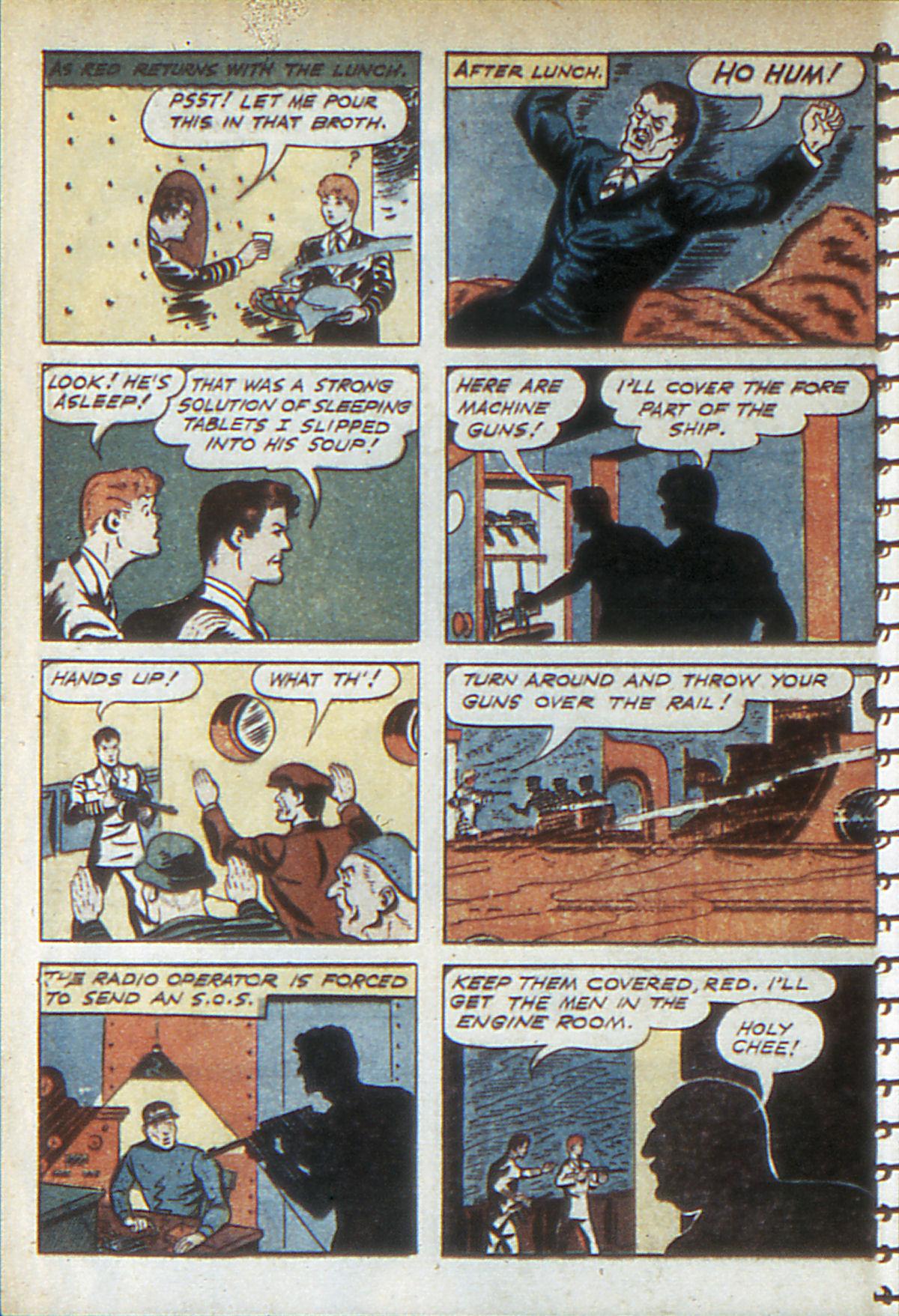 Read online Adventure Comics (1938) comic -  Issue #52 - 56