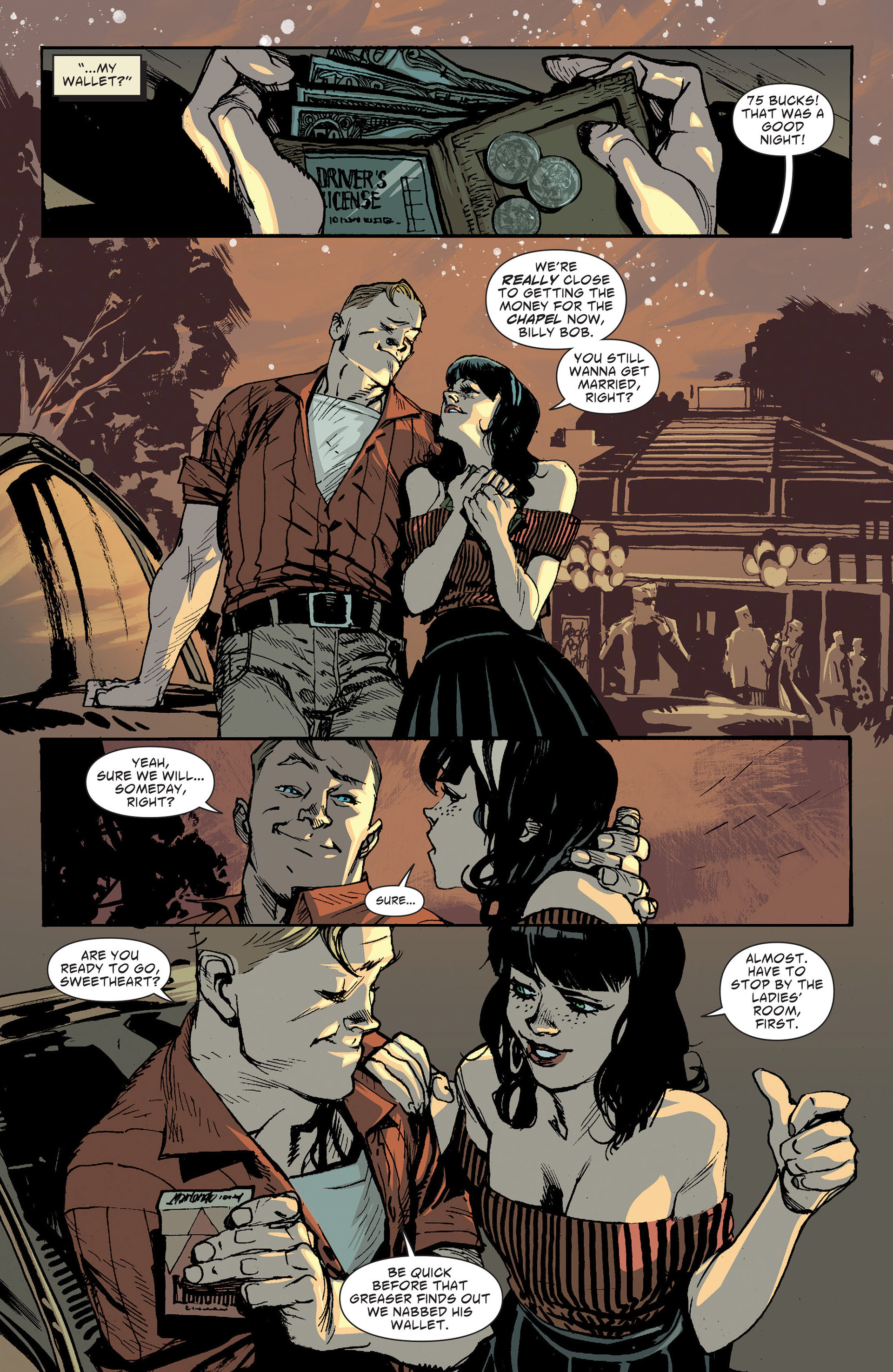 Read online American Vampire: The Long Road To Hell comic -  Issue # Full - 4