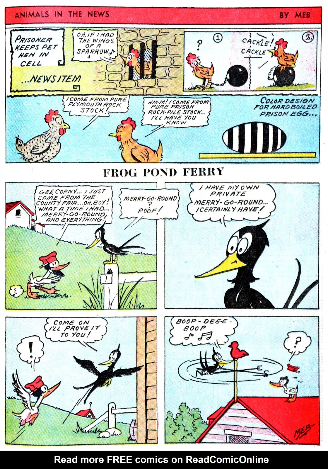 Read online Famous Funnies comic -  Issue #60 - 36