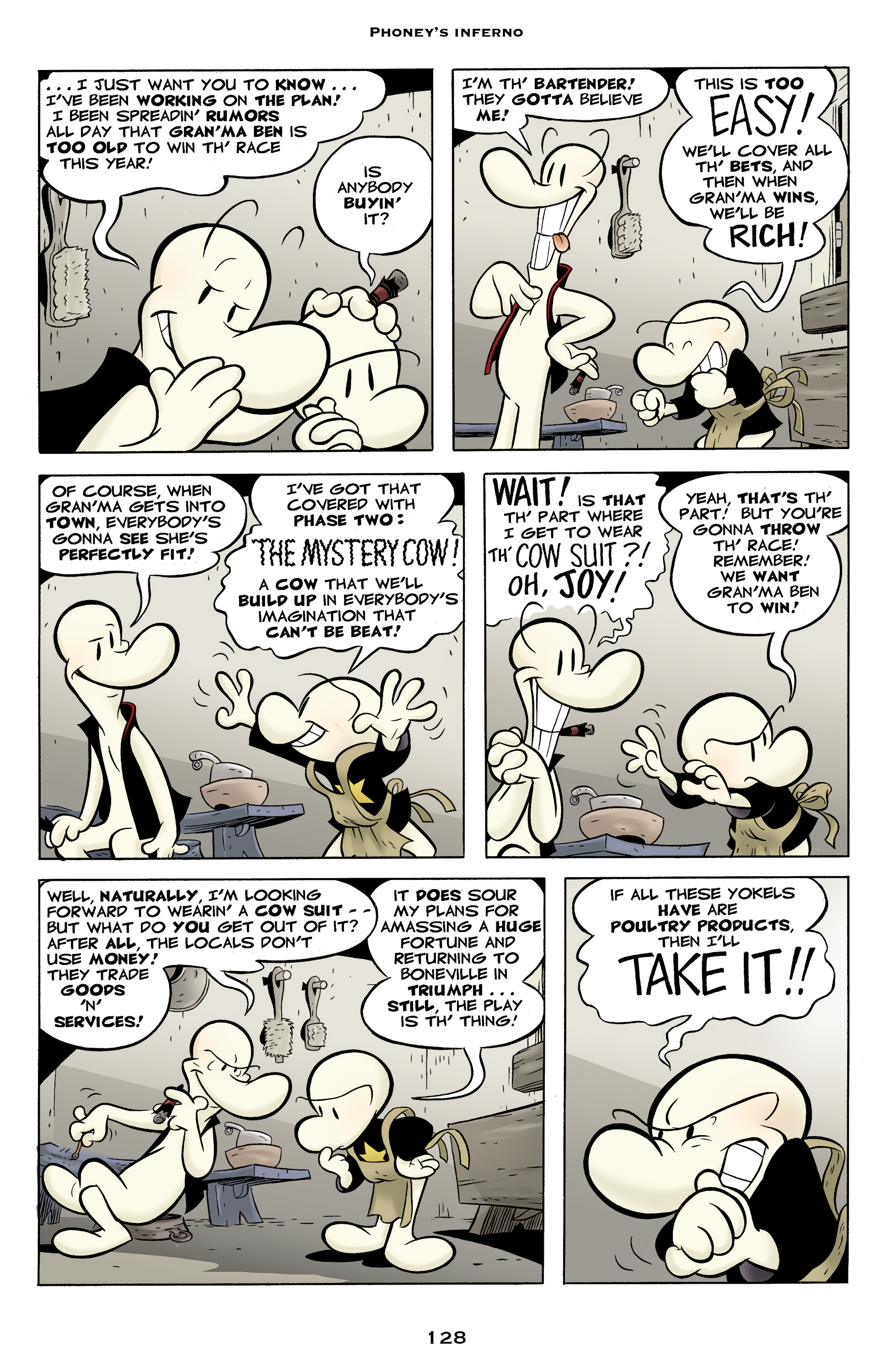 Read online Bone: Out From Boneville comic -  Issue # TPB - 128