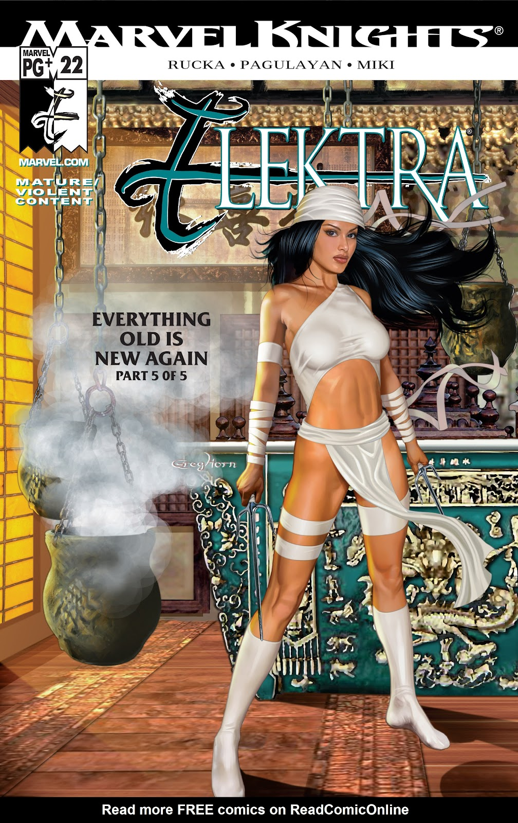 Read online Elektra (2001) comic -  Issue # _TPB Elektra by Greg Rucka Ultimate Collection (Part 4) - 54