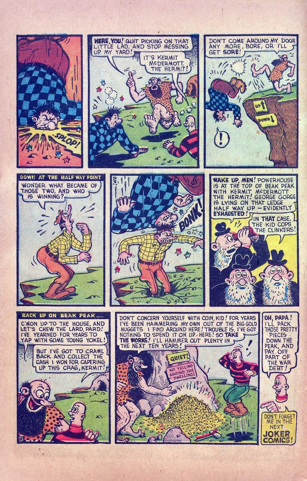 Read online Joker Comics comic -  Issue #16 - 16
