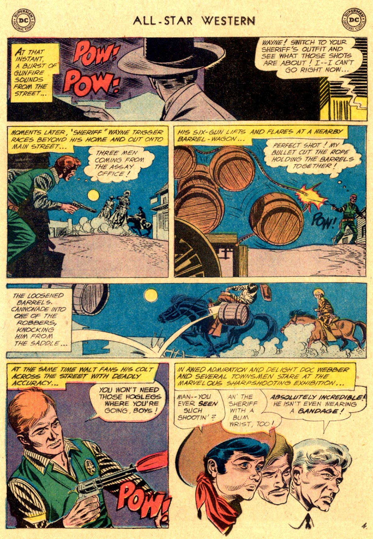 Read online All-Star Western (1951) comic -  Issue #112 - 28