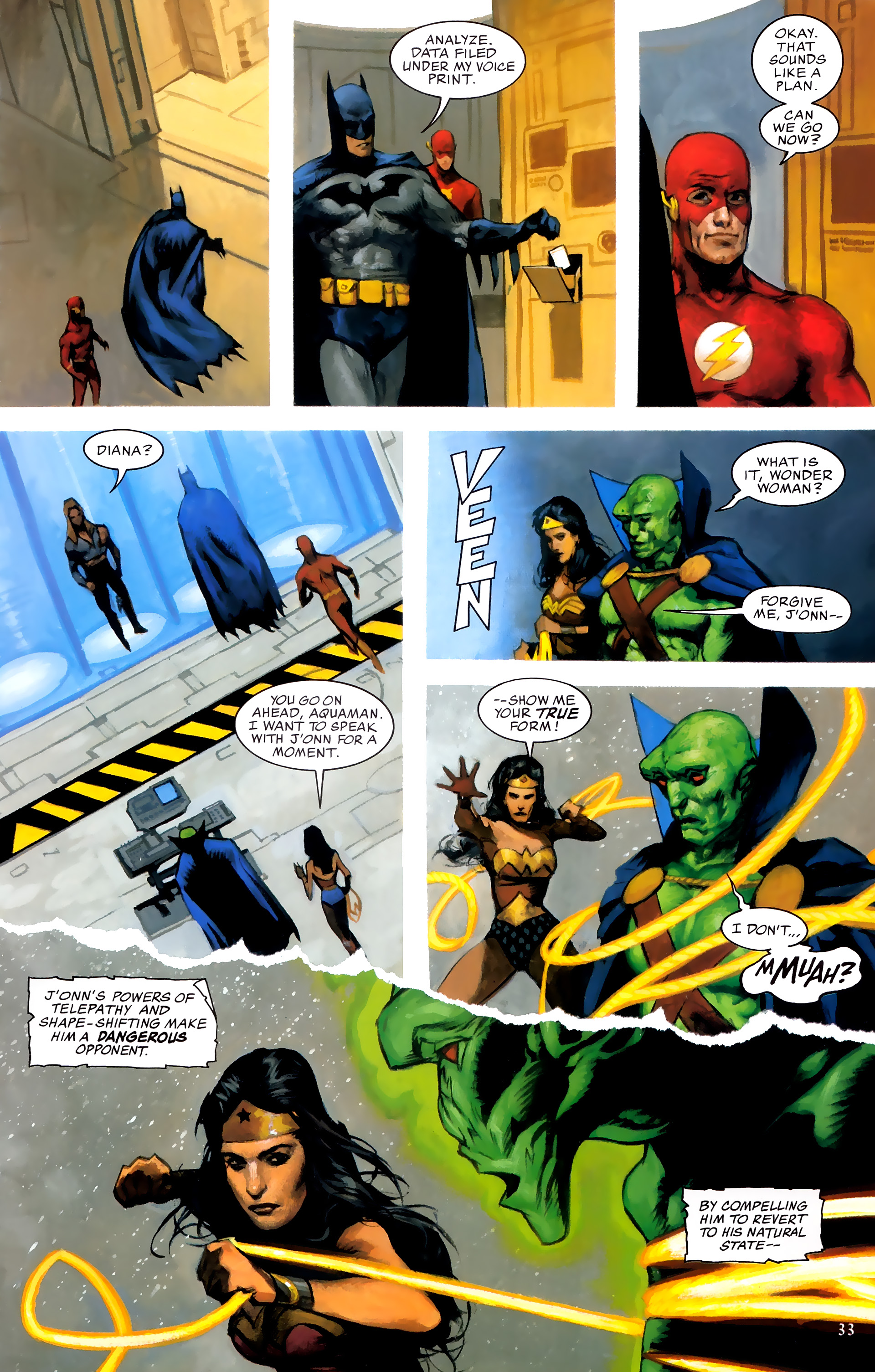 Read online JLA: A League of One comic -  Issue # Full - 40