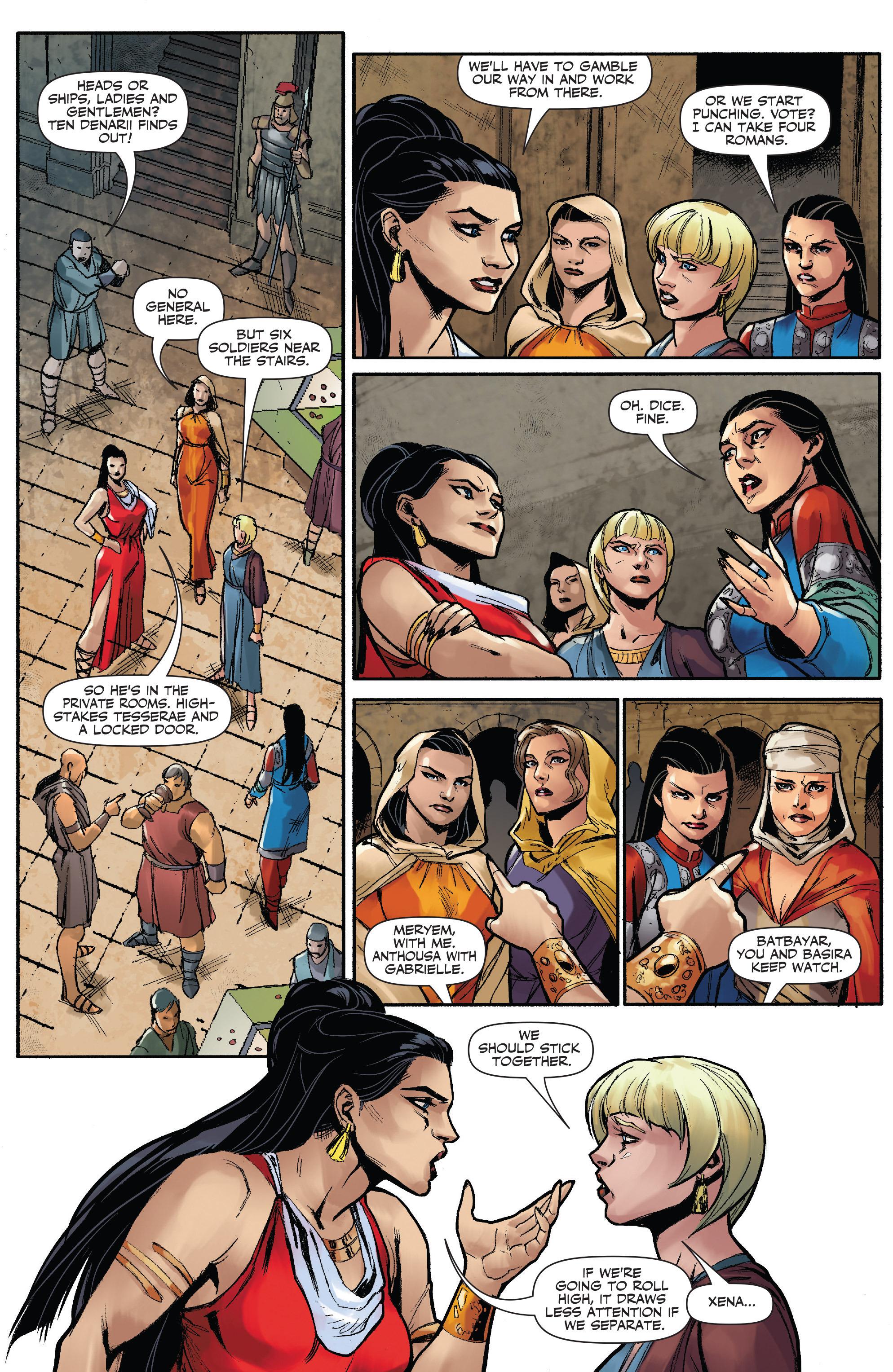 Read online Xena: Warrior Princess (2016) comic -  Issue #3 - 5