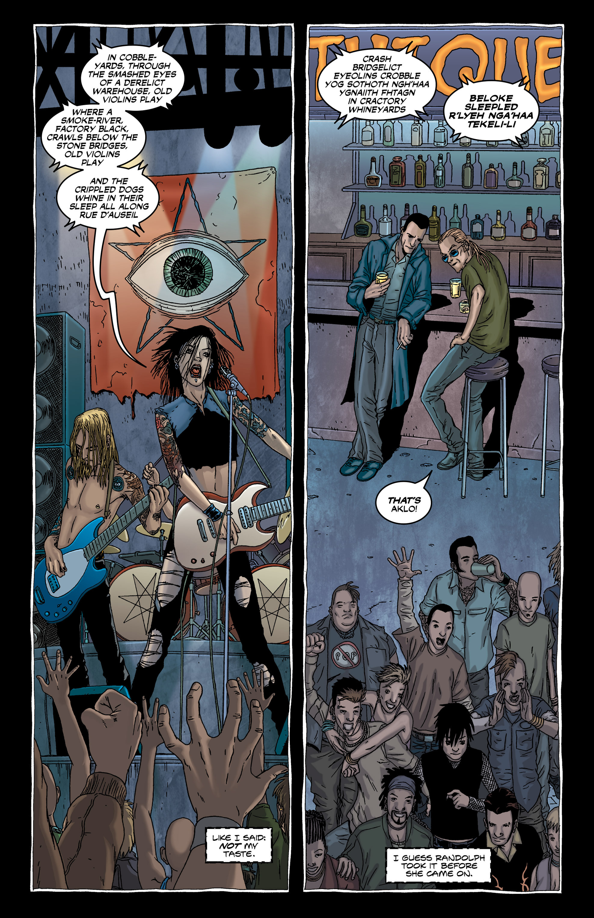 Read online Alan Moore's The Courtyard comic -  Issue # TPB - 22