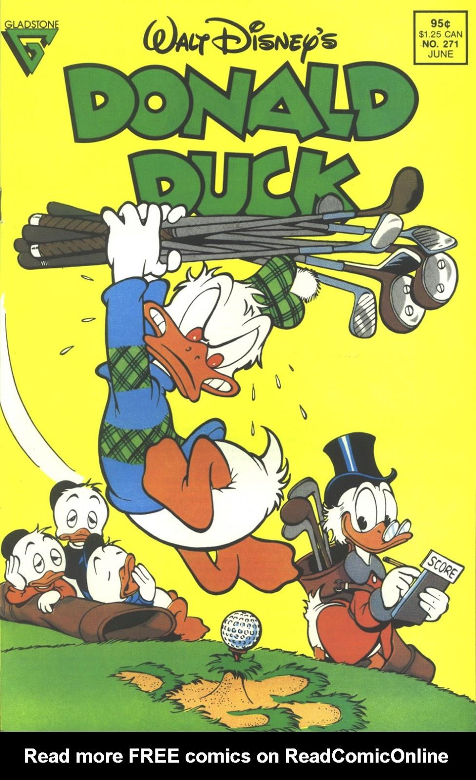 Walt Disneys Donald Duck (1986) issue 271 - Page 1