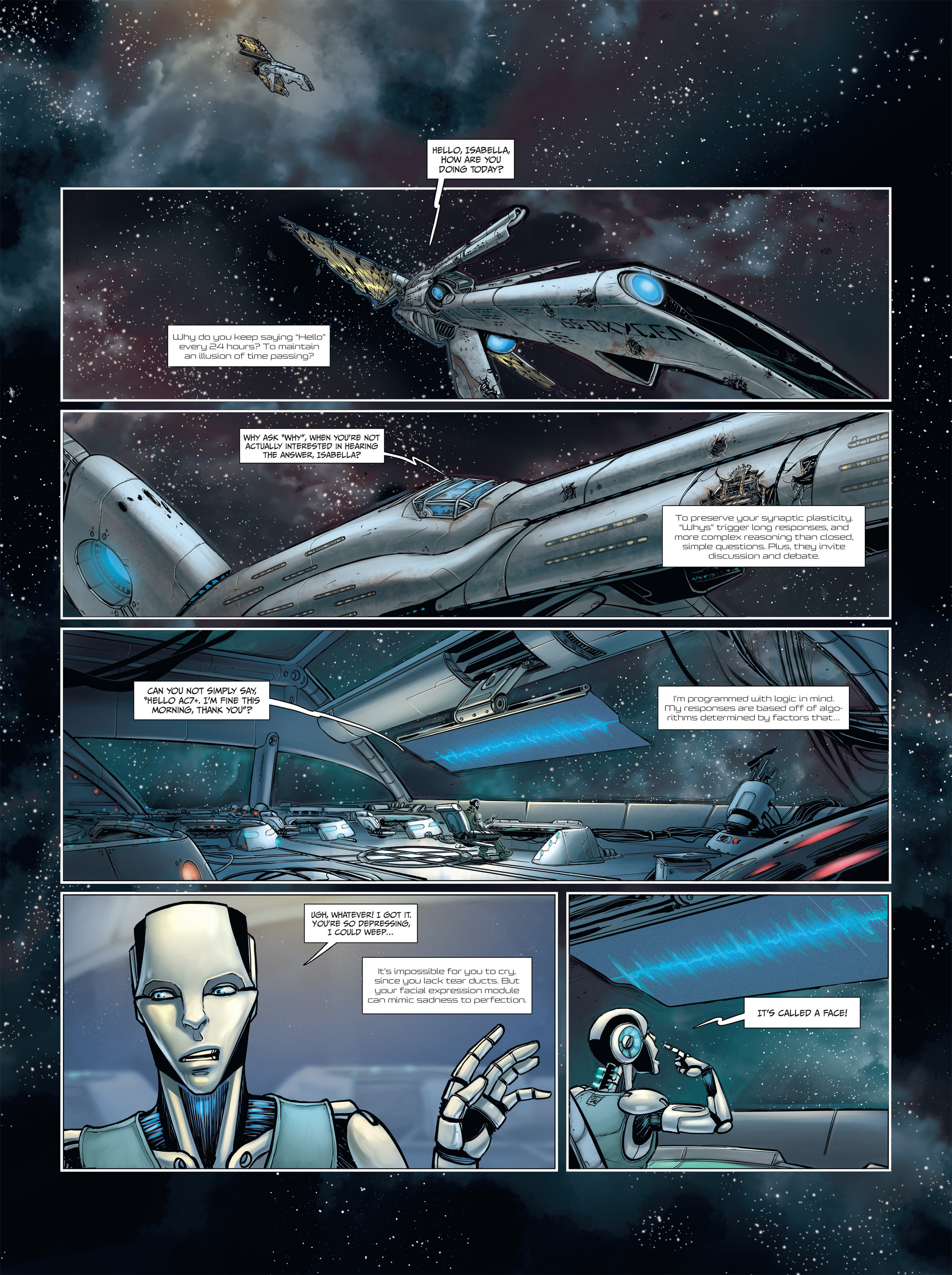Read online Androïds comic -  Issue #2 - 3