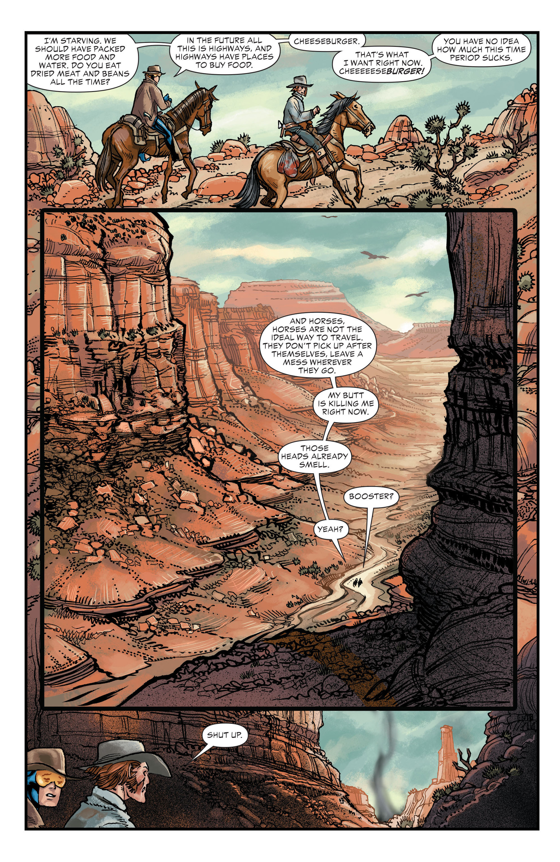 Read online All-Star Western (2011) comic -  Issue #20 - 8