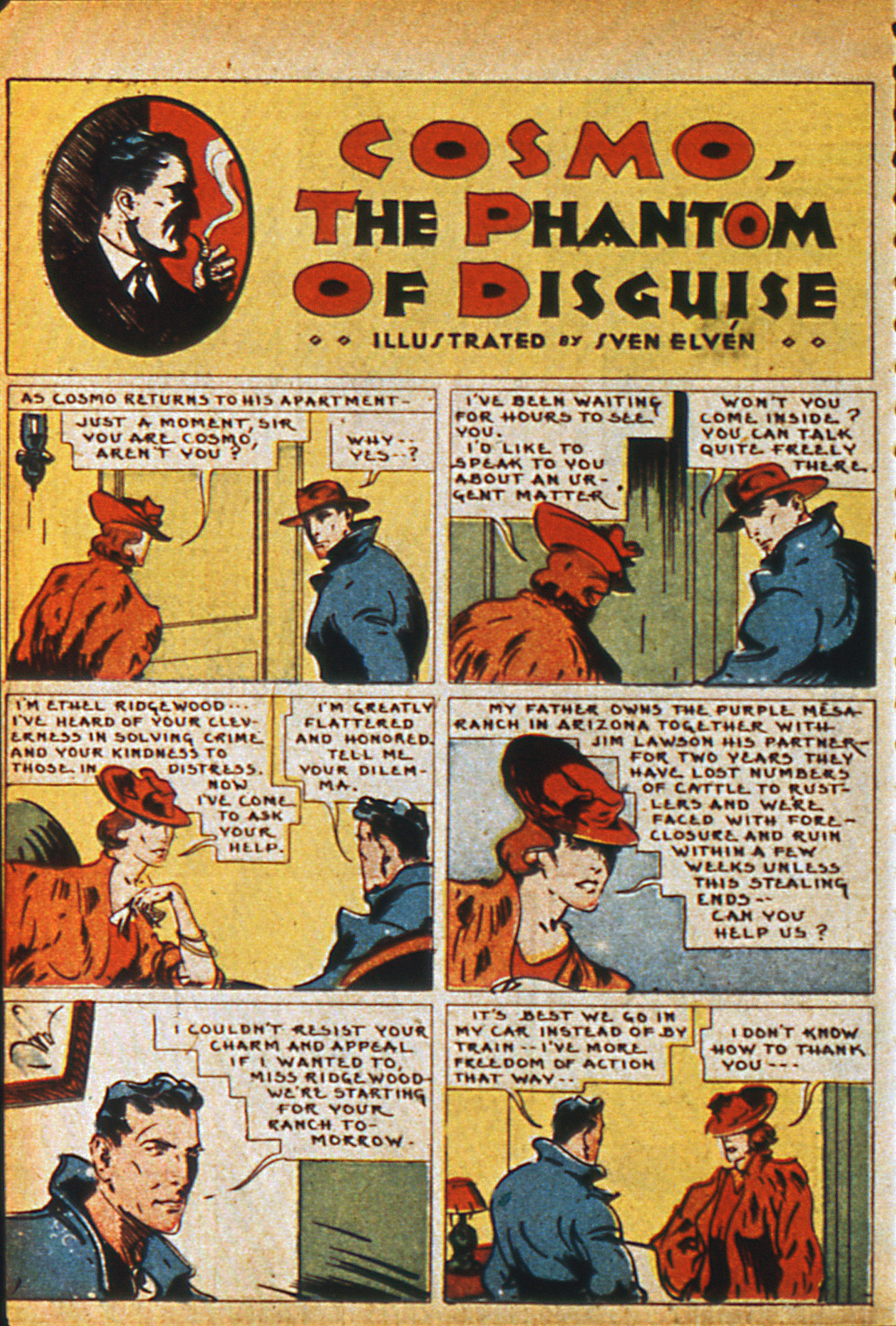 Read online Detective Comics (1937) comic -  Issue #36 - 42