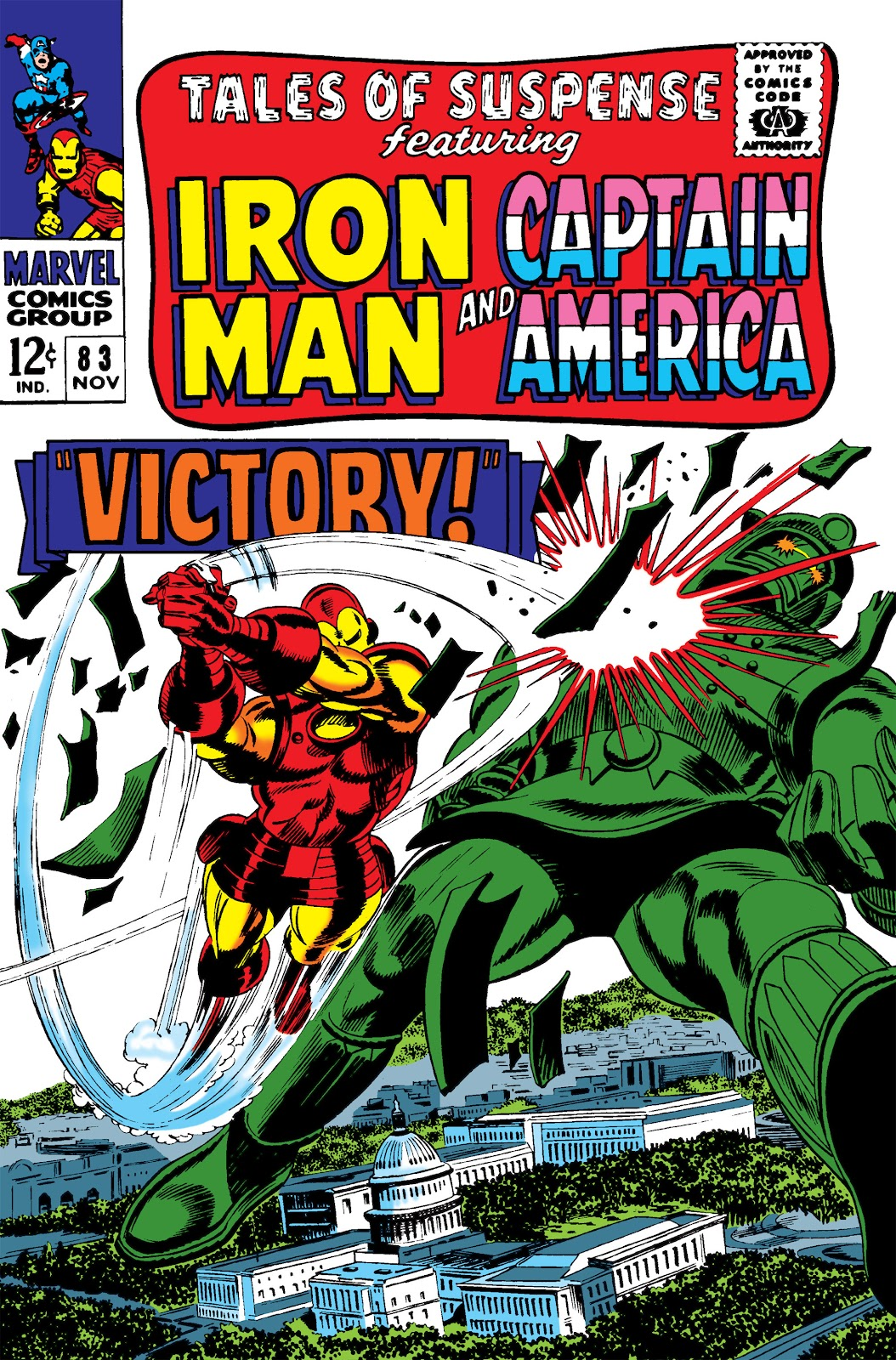 Read online Marvel Masterworks: The Invincible Iron Man comic -  Issue # TPB 3 (Part 4) - 94