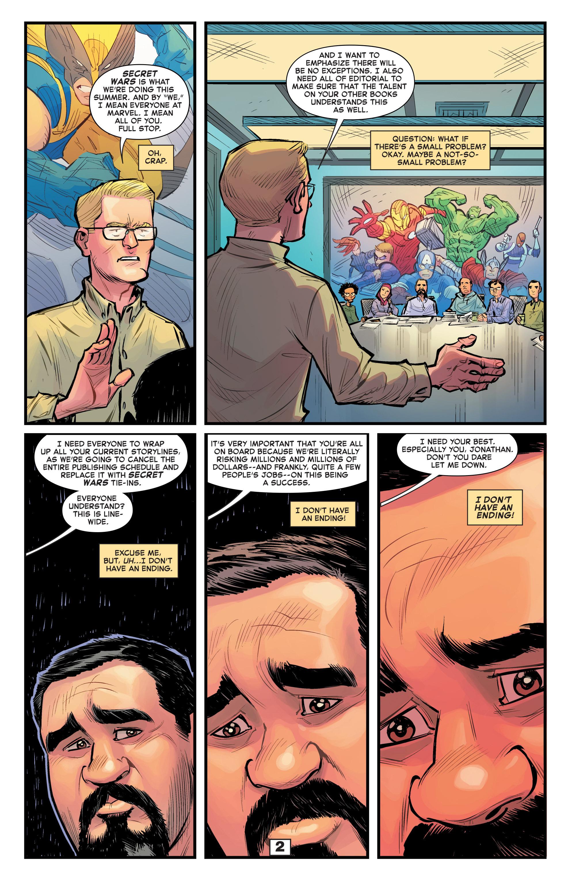Read online Secret Wars Too comic -  Issue # Full - 4