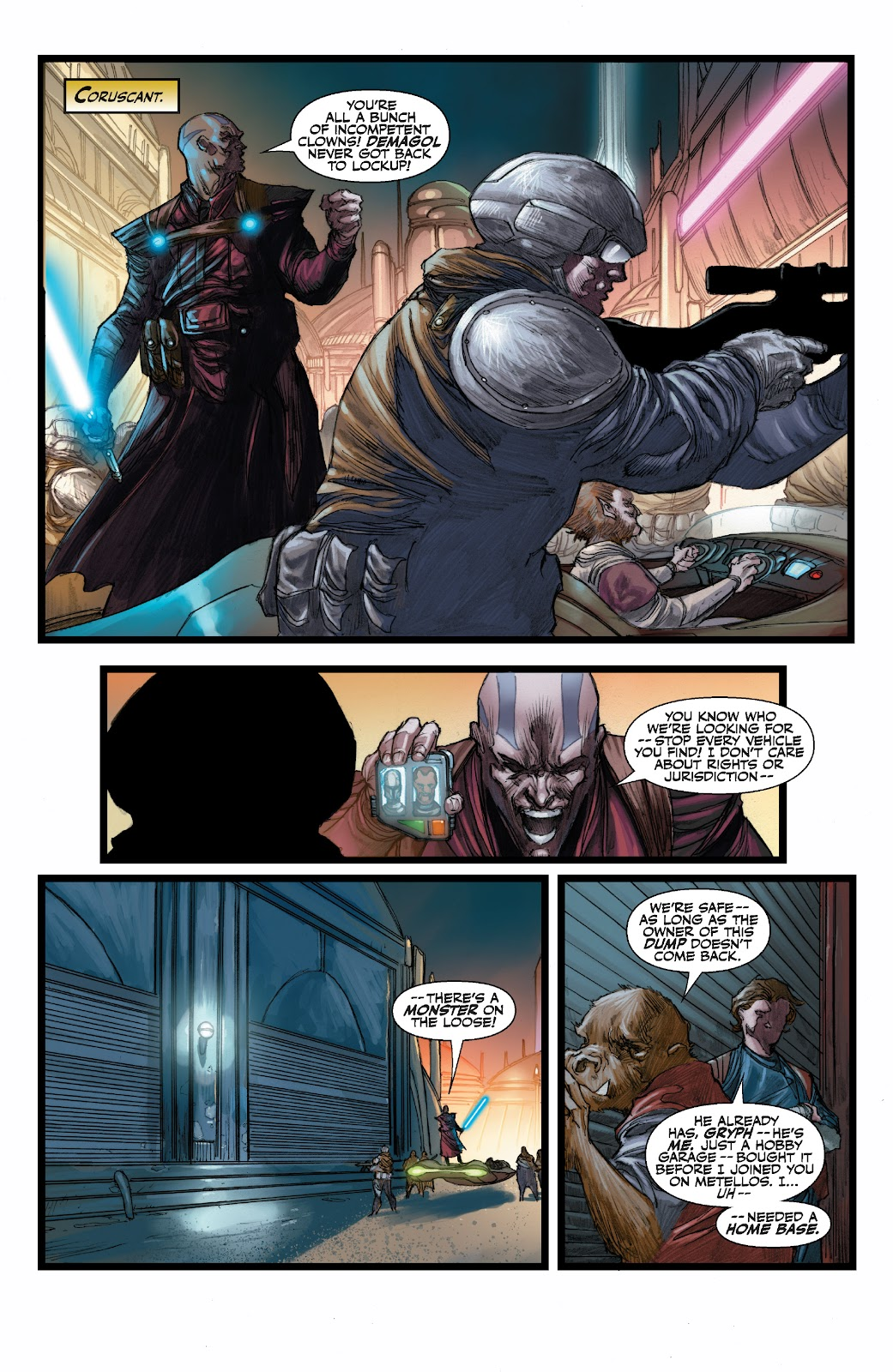 Read online Star Wars Legends: The Old Republic - Epic Collection comic -  Issue # TPB 3 (Part 3) - 38