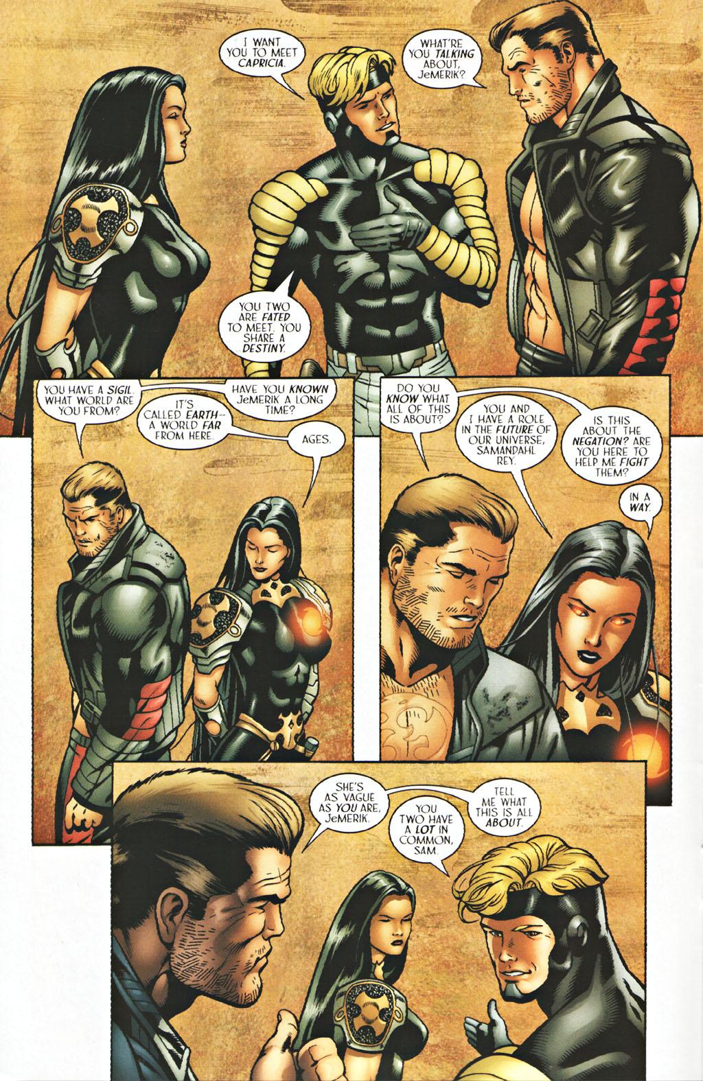 Read online Sigil (2000) comic -  Issue #40 - 11