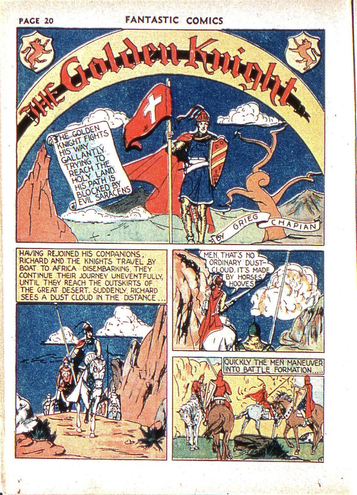 Read online Fantastic Comics comic -  Issue #2 - 22