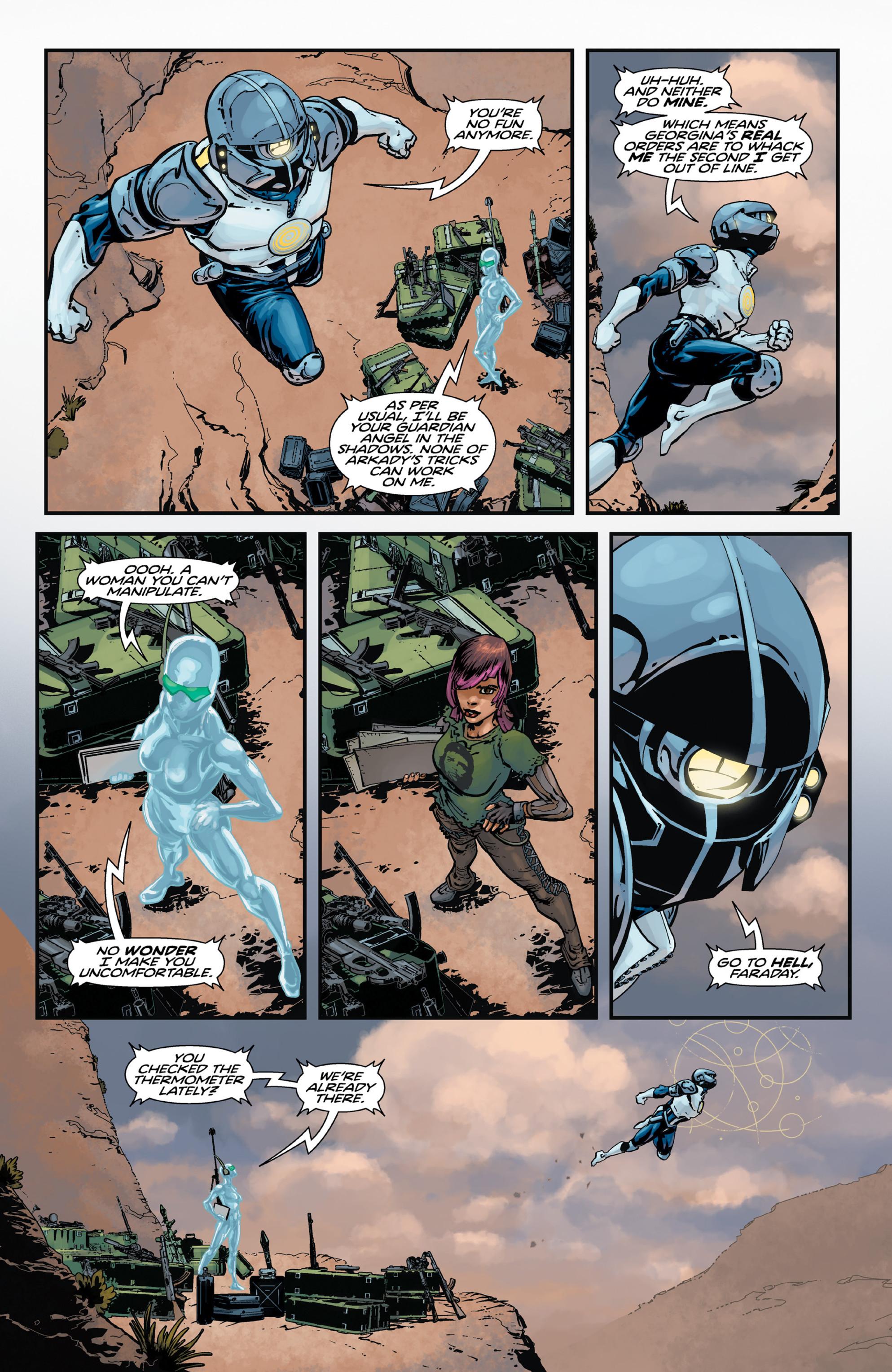 Read online Brain Boy:  The Men from G.E.S.T.A.L.T. comic -  Issue # TPB - 45