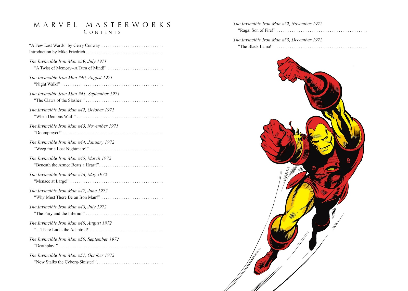 Read online Marvel Masterworks: The Invincible Iron Man comic -  Issue # TPB 8 (Part 1) - 4