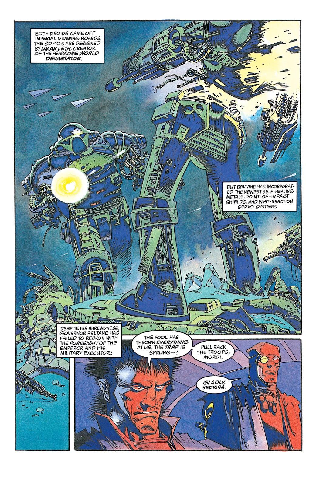 Read online Star Wars: Dark Empire Trilogy comic -  Issue # TPB (Part 2) - 62
