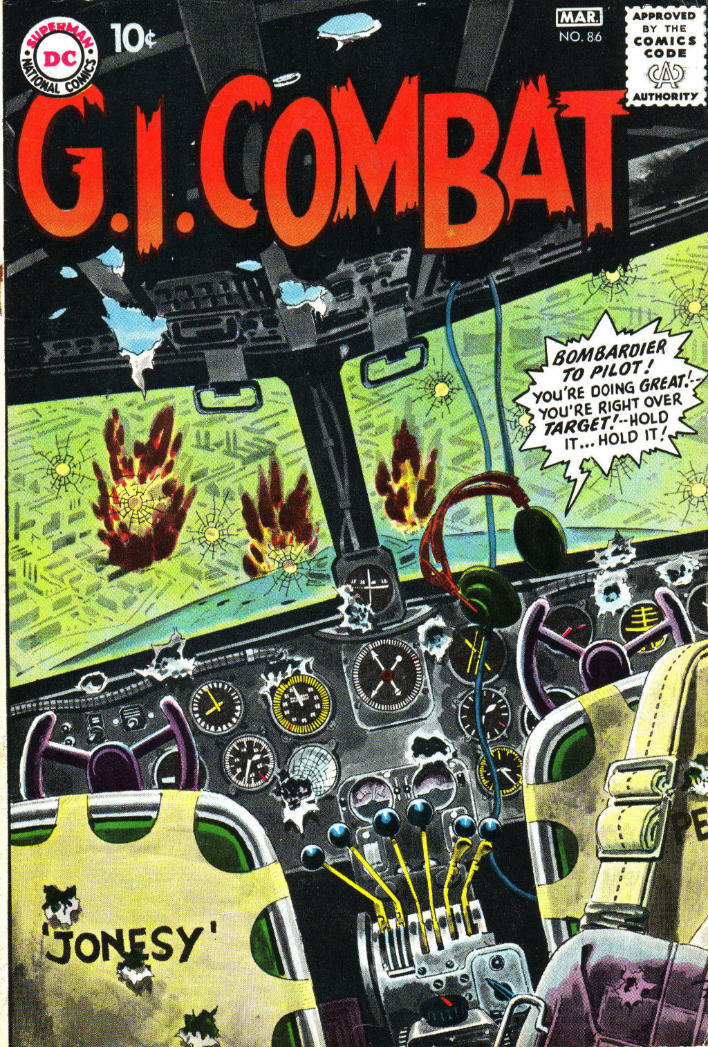 G.I. Combat (1952) 86 Page 1