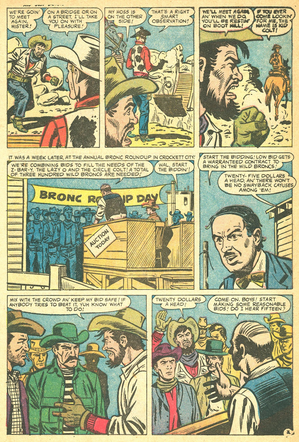 Kid Colt Outlaw issue 60 - Page 5