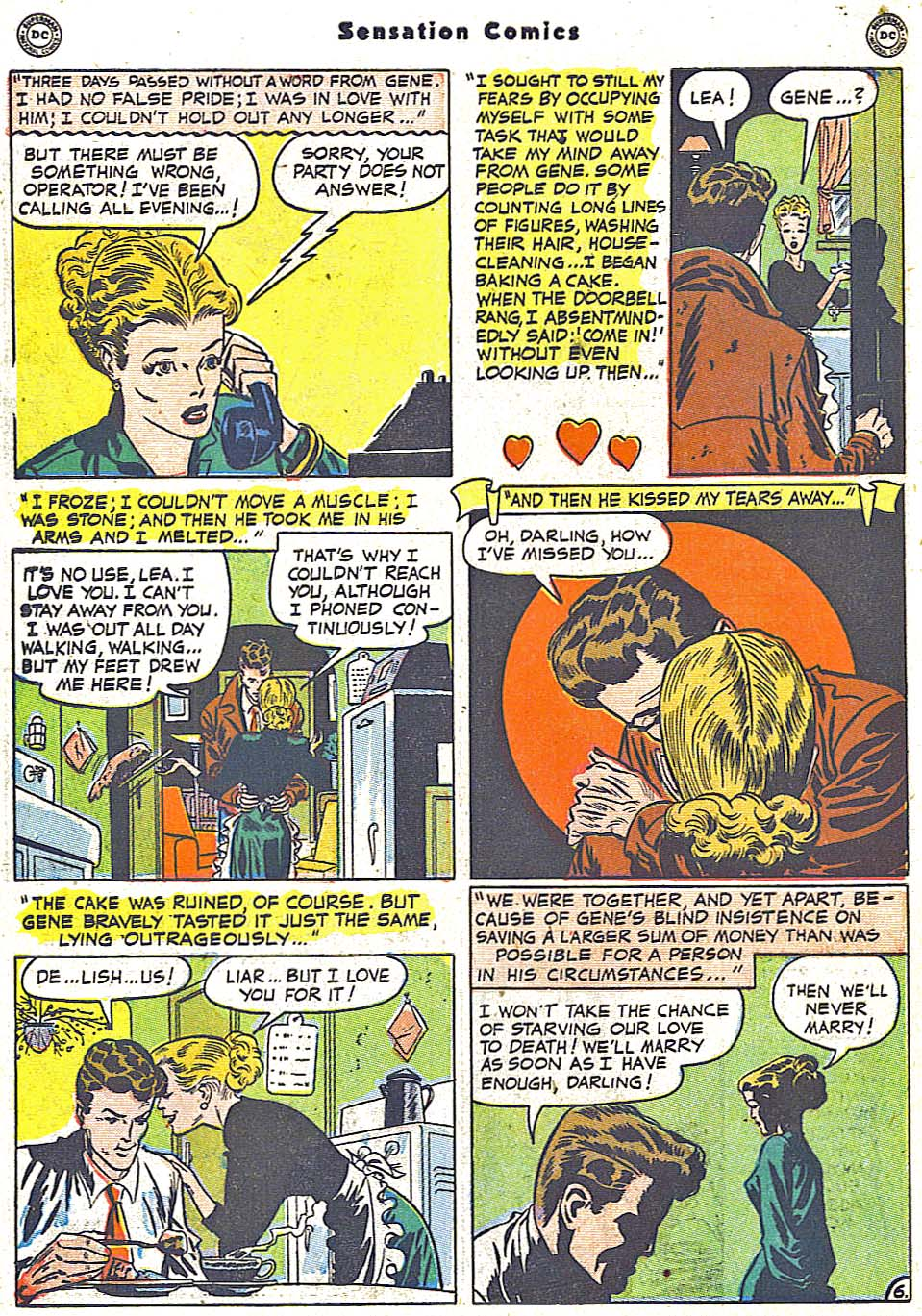 Read online Sensation (Mystery) Comics comic -  Issue #96 - 44