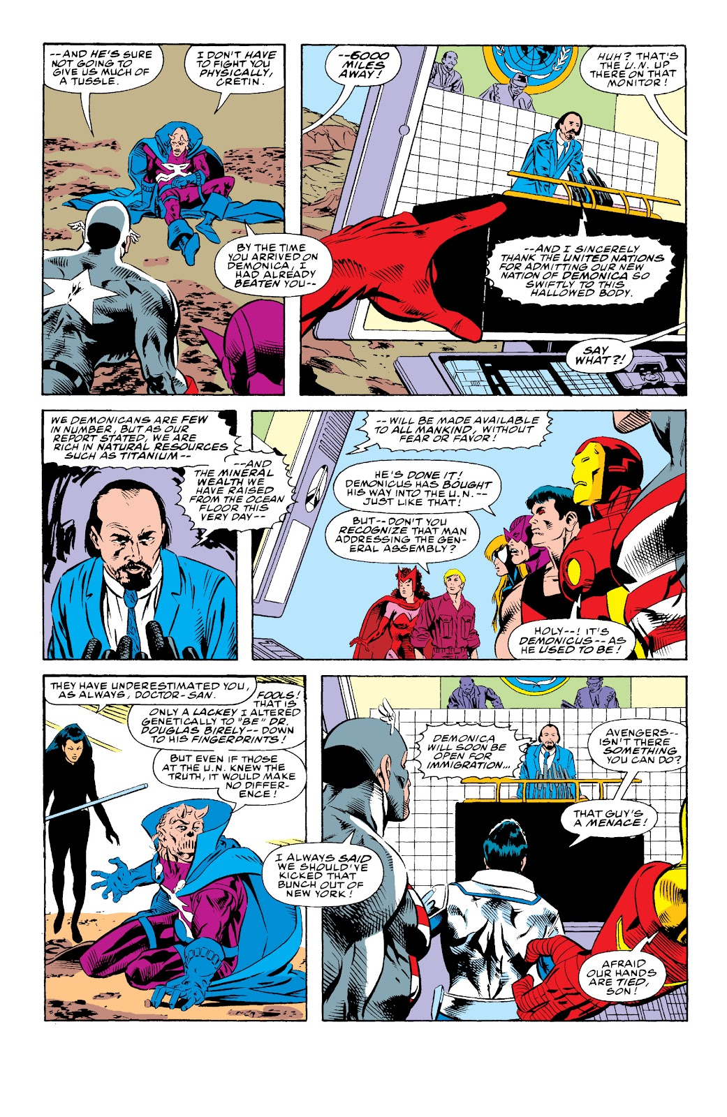 Avengers West Coast (1989) issue 74 - Page 20