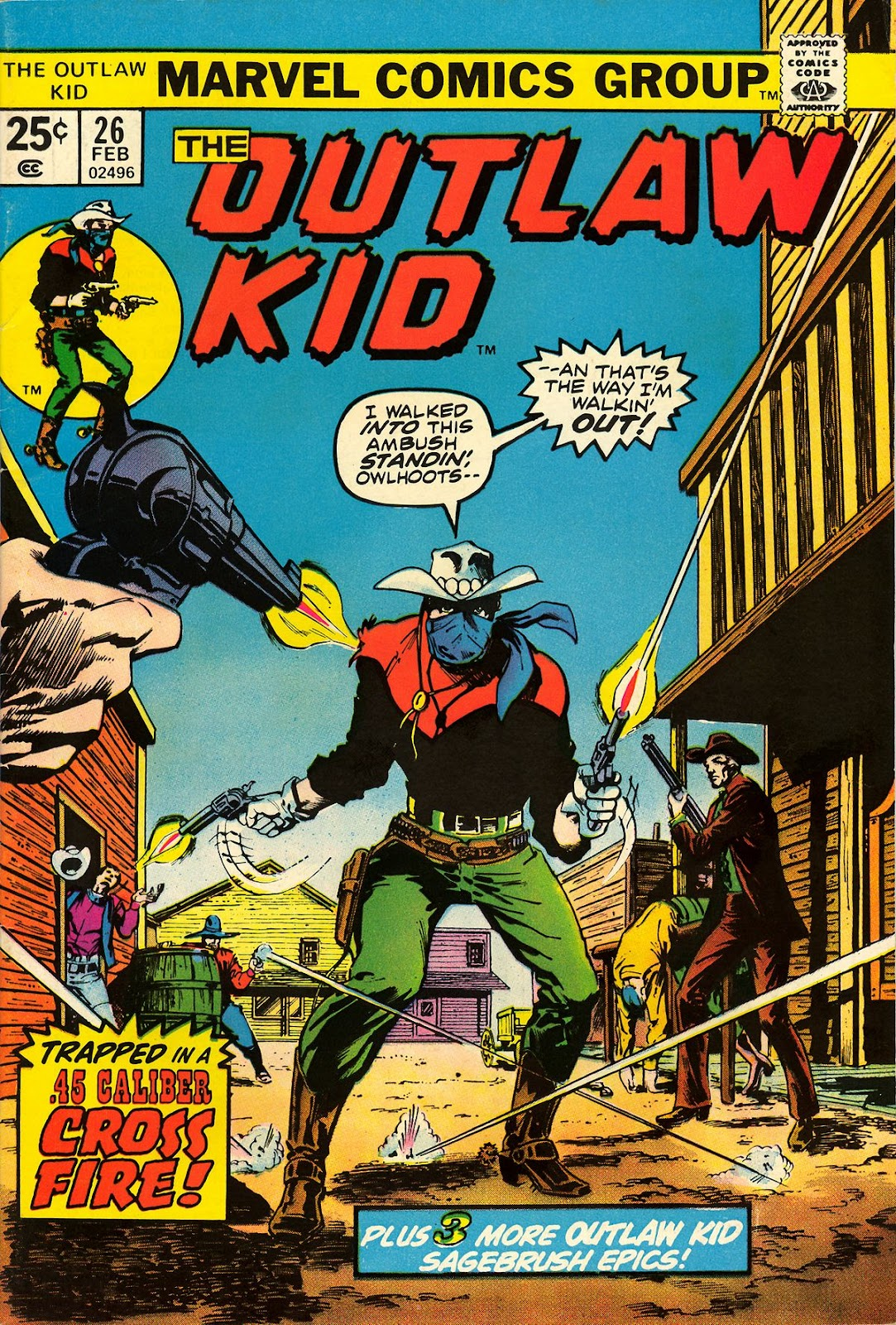 The Outlaw Kid (1970) issue 26 - Page 1