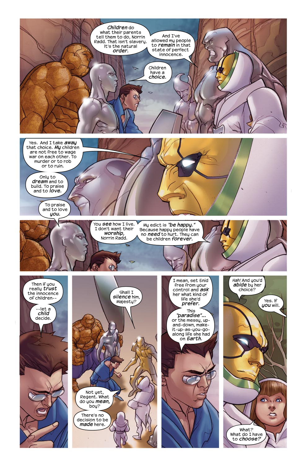 Read online Ultimate Fantastic Four (2004) comic -  Issue #46 - 16