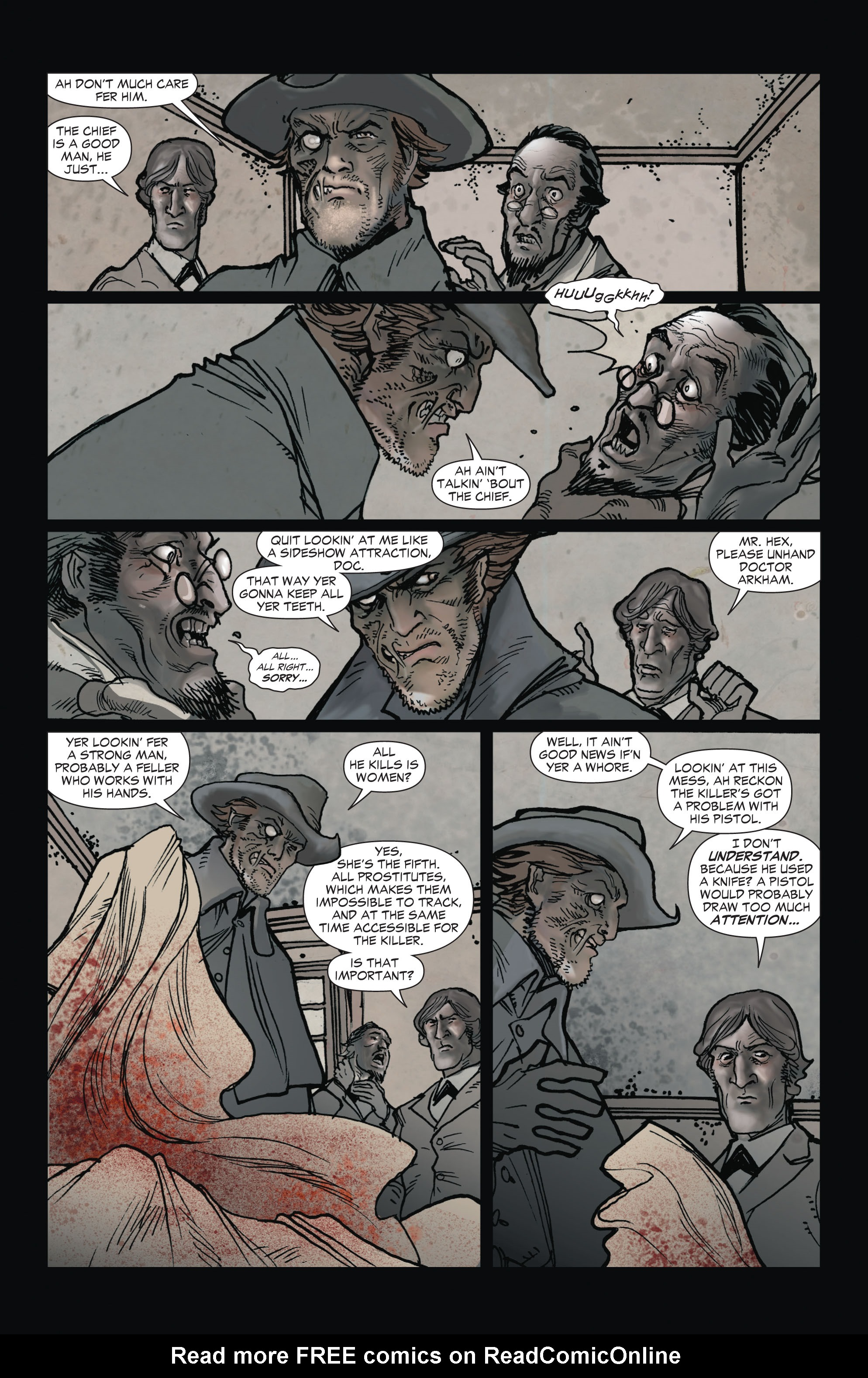 Read online All-Star Western (2011) comic -  Issue #1 - 10