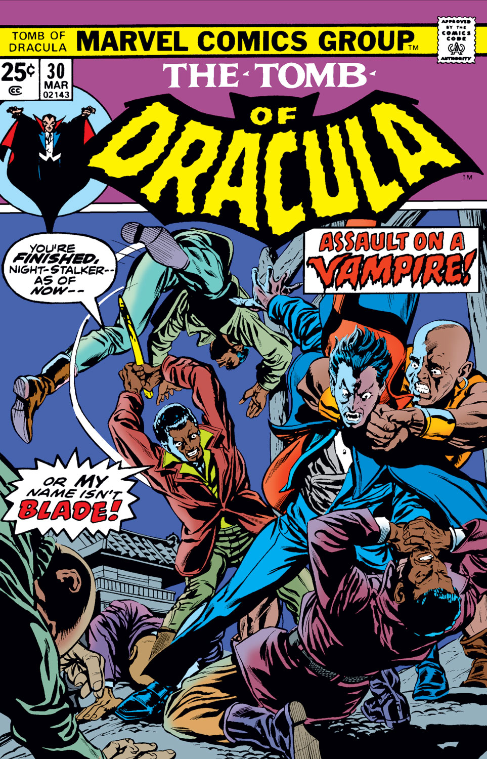 Tomb of Dracula (1972) issue 30 - Page 1