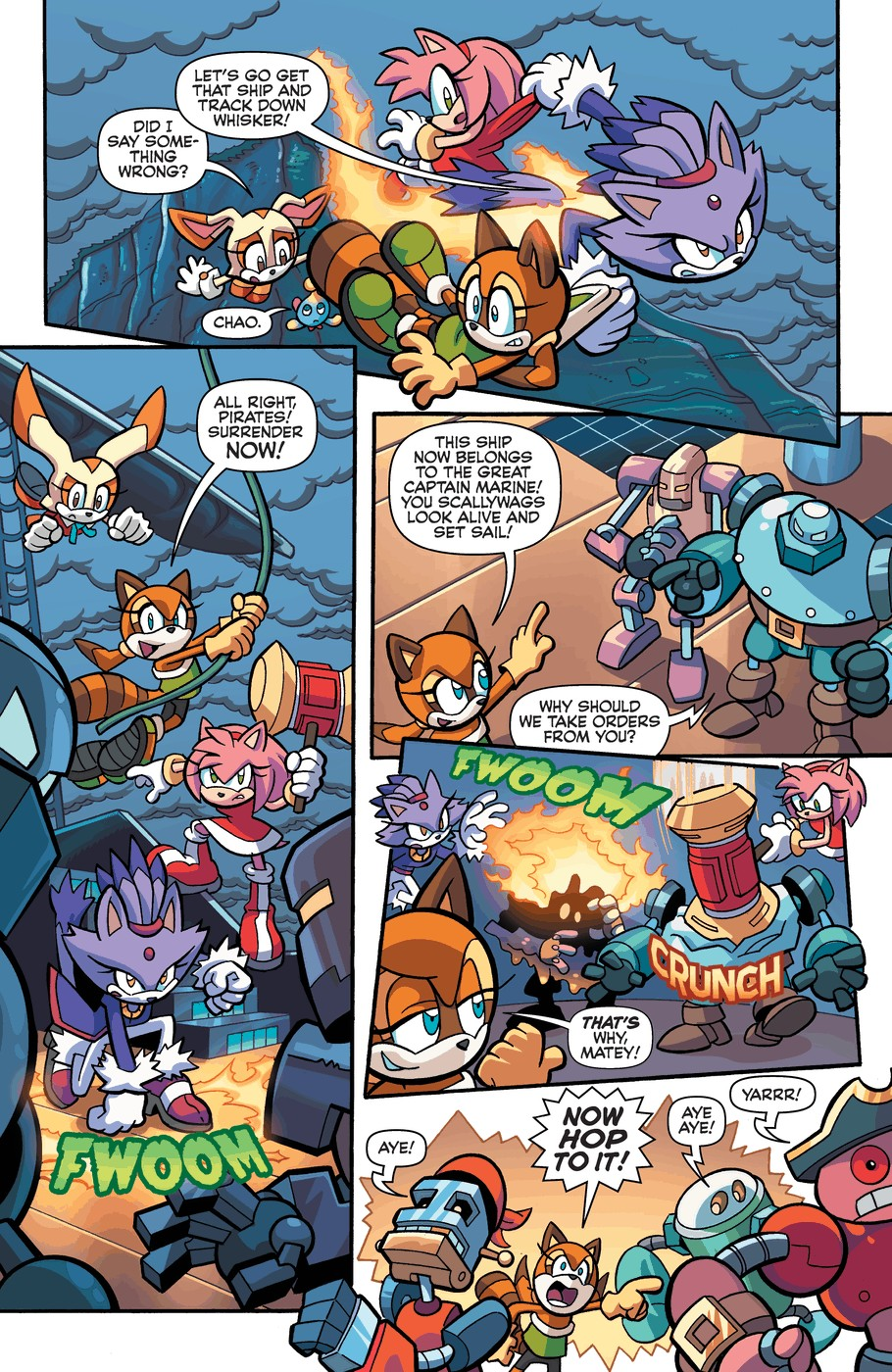 Read online Sonic Universe comic -  Issue #57 - 11
