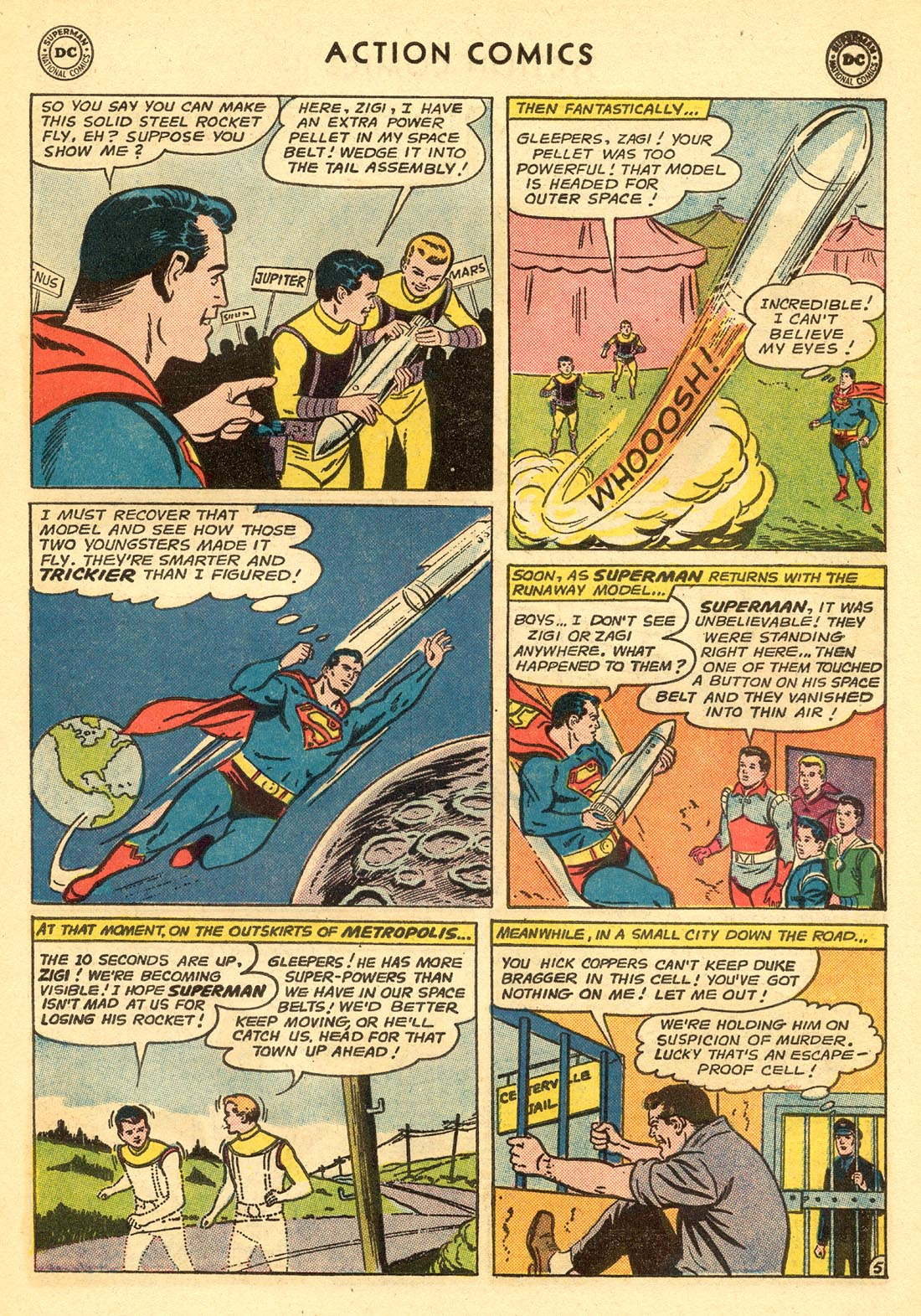 Read online Action Comics (1938) comic -  Issue #315 - 7