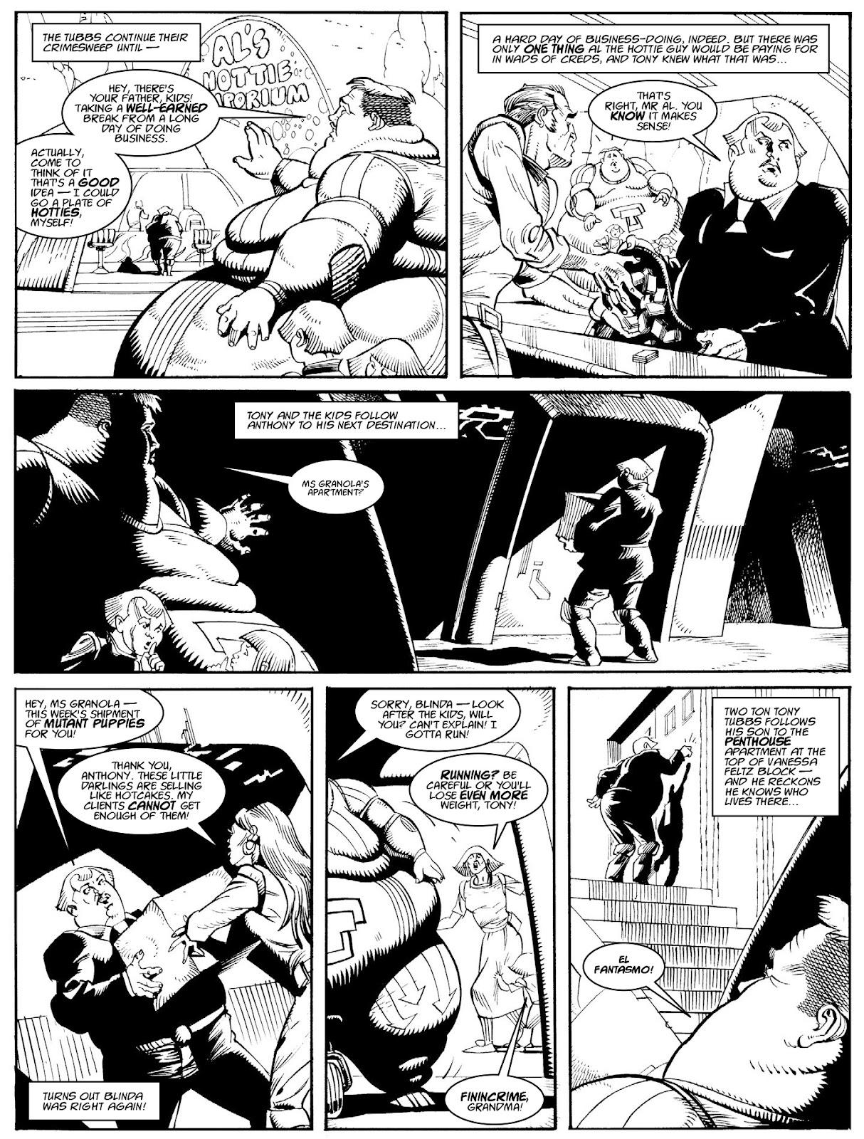 Judge Dredd Megazine (Vol. 5) issue 427 - Page 124