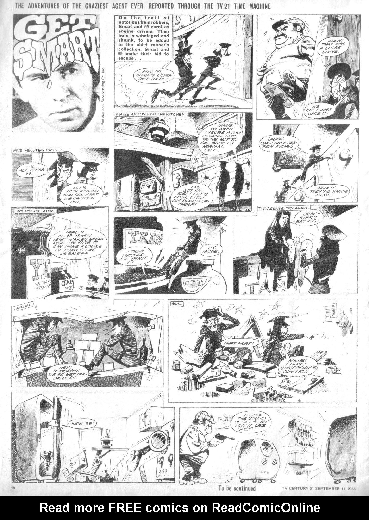 Read online TV Century 21 (TV 21) comic -  Issue #87 - 17
