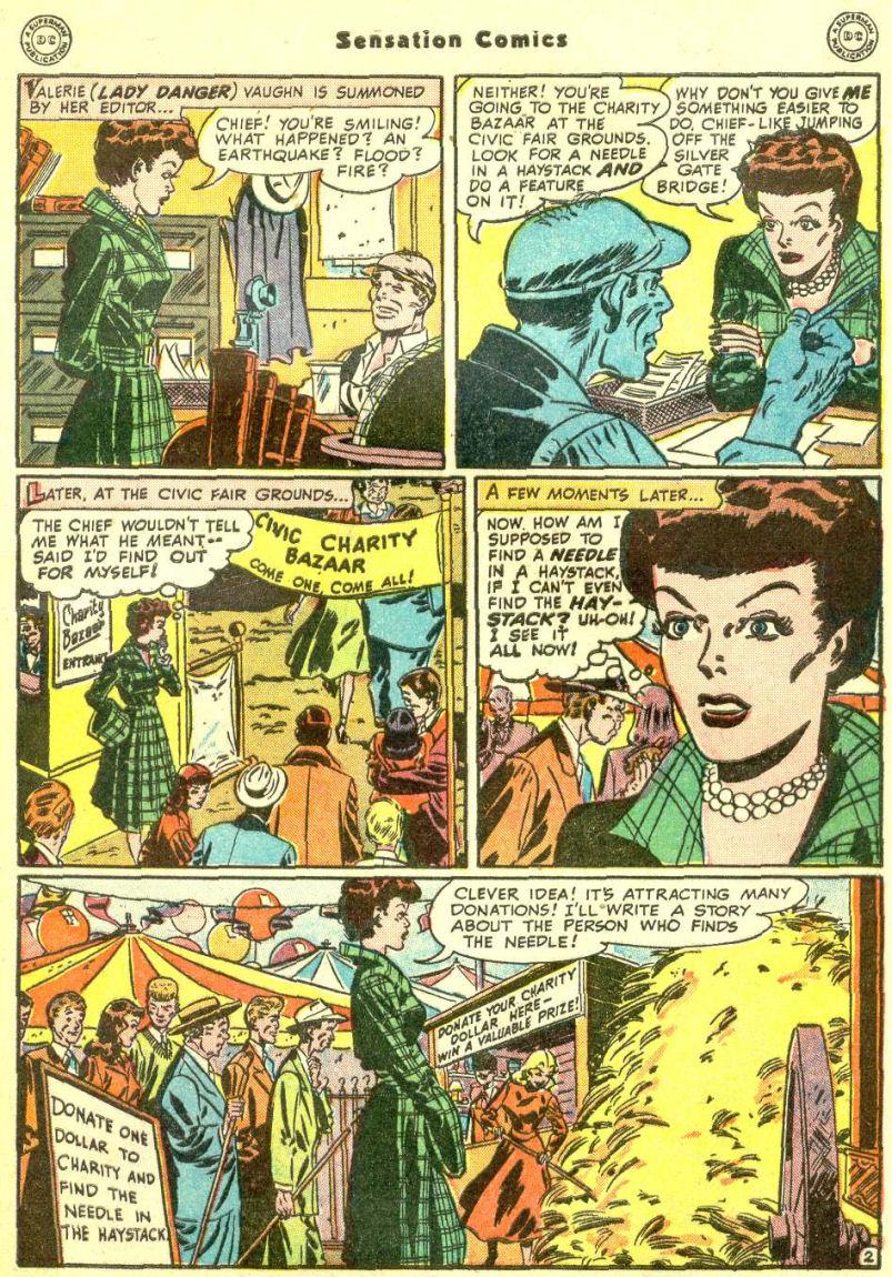 Read online Sensation (Mystery) Comics comic -  Issue #87 - 41