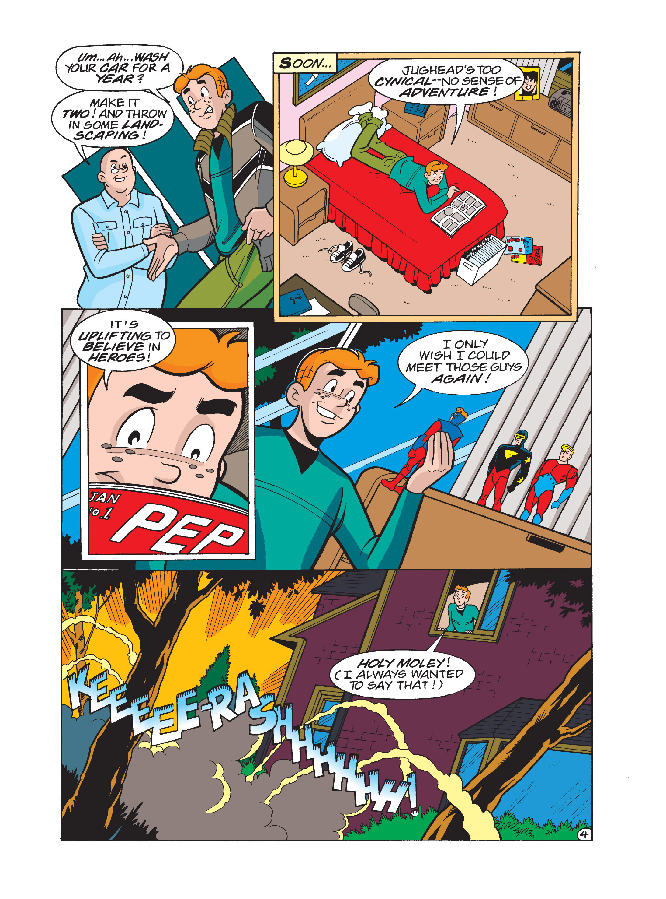 Read online Archie 75th Anniversary Digest comic -  Issue #1 - 120