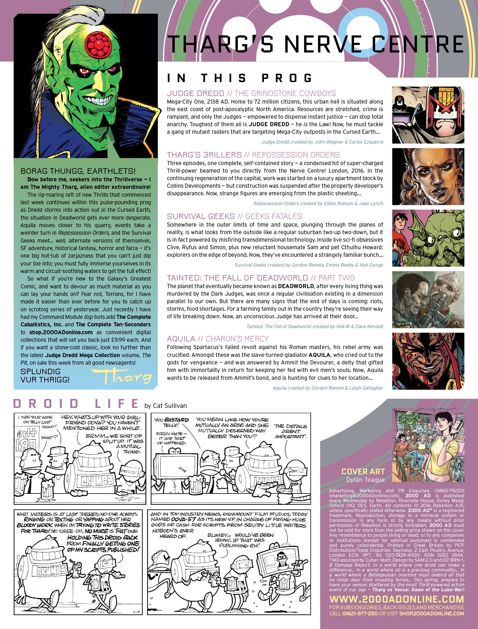 Read online 2000 AD comic -  Issue #1974 - 2
