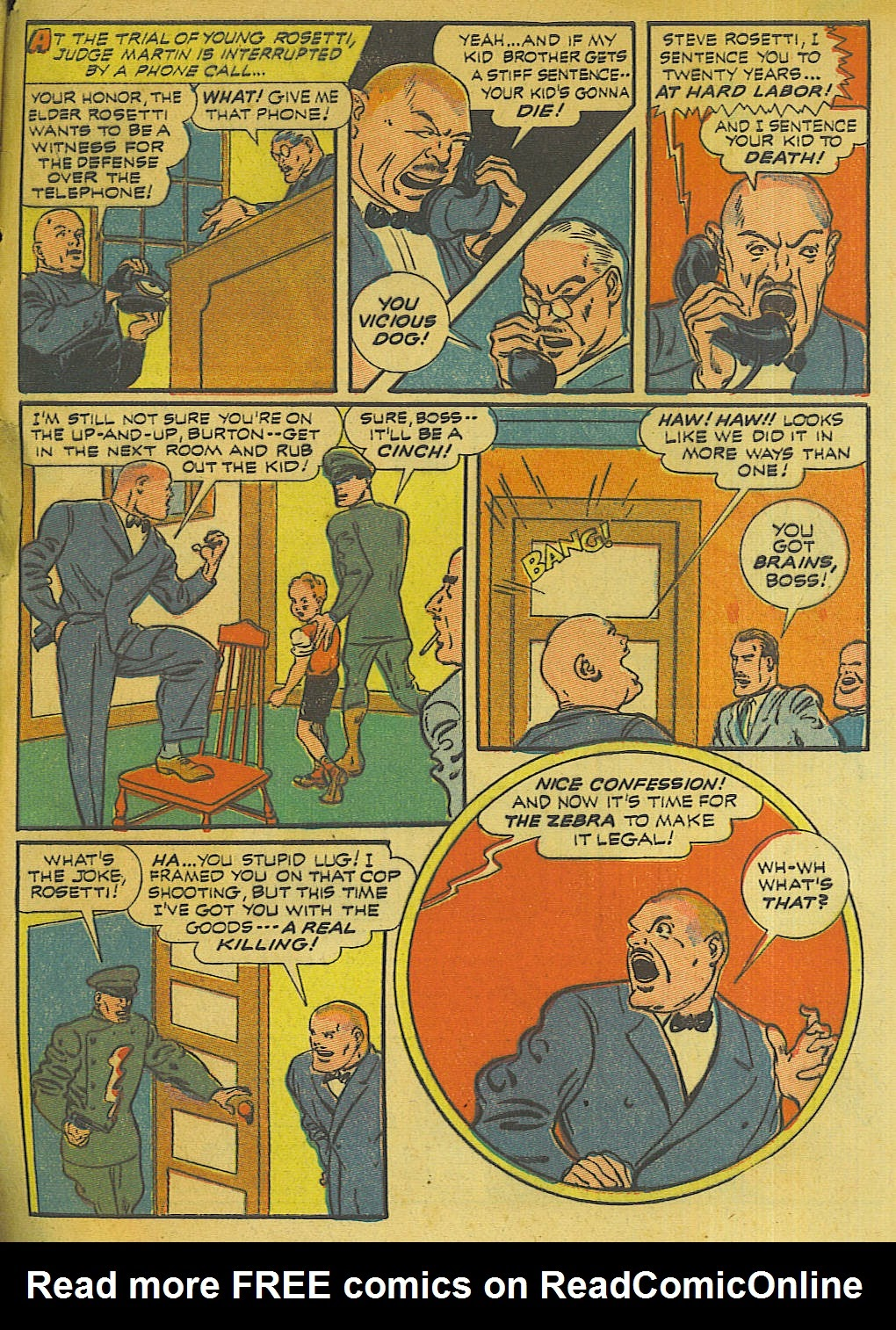 Green Hornet Comics issue 10 - Page 42