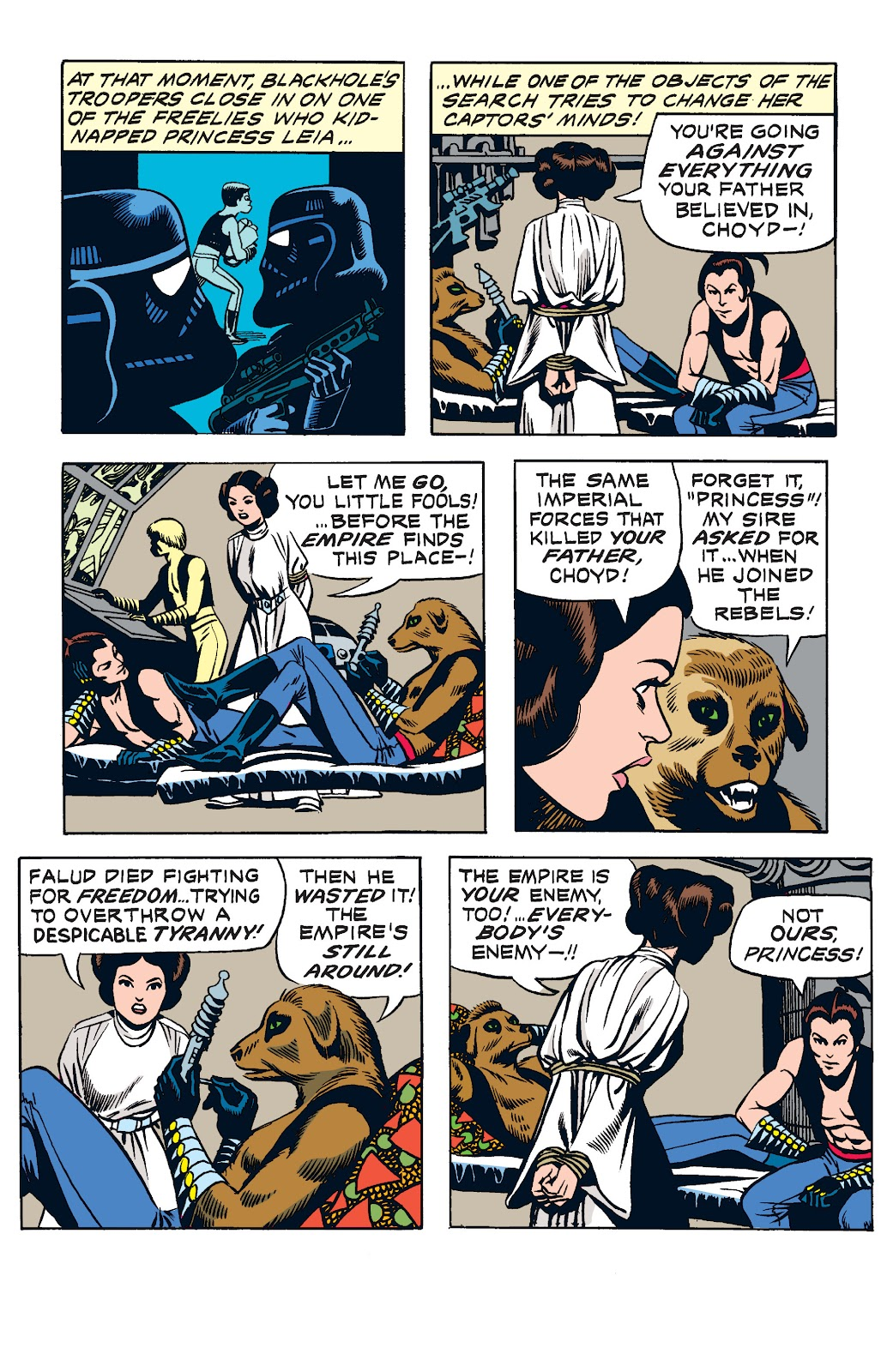Read online Star Wars Legends: The Newspaper Strips - Epic Collection comic -  Issue # TPB (Part 2) - 9