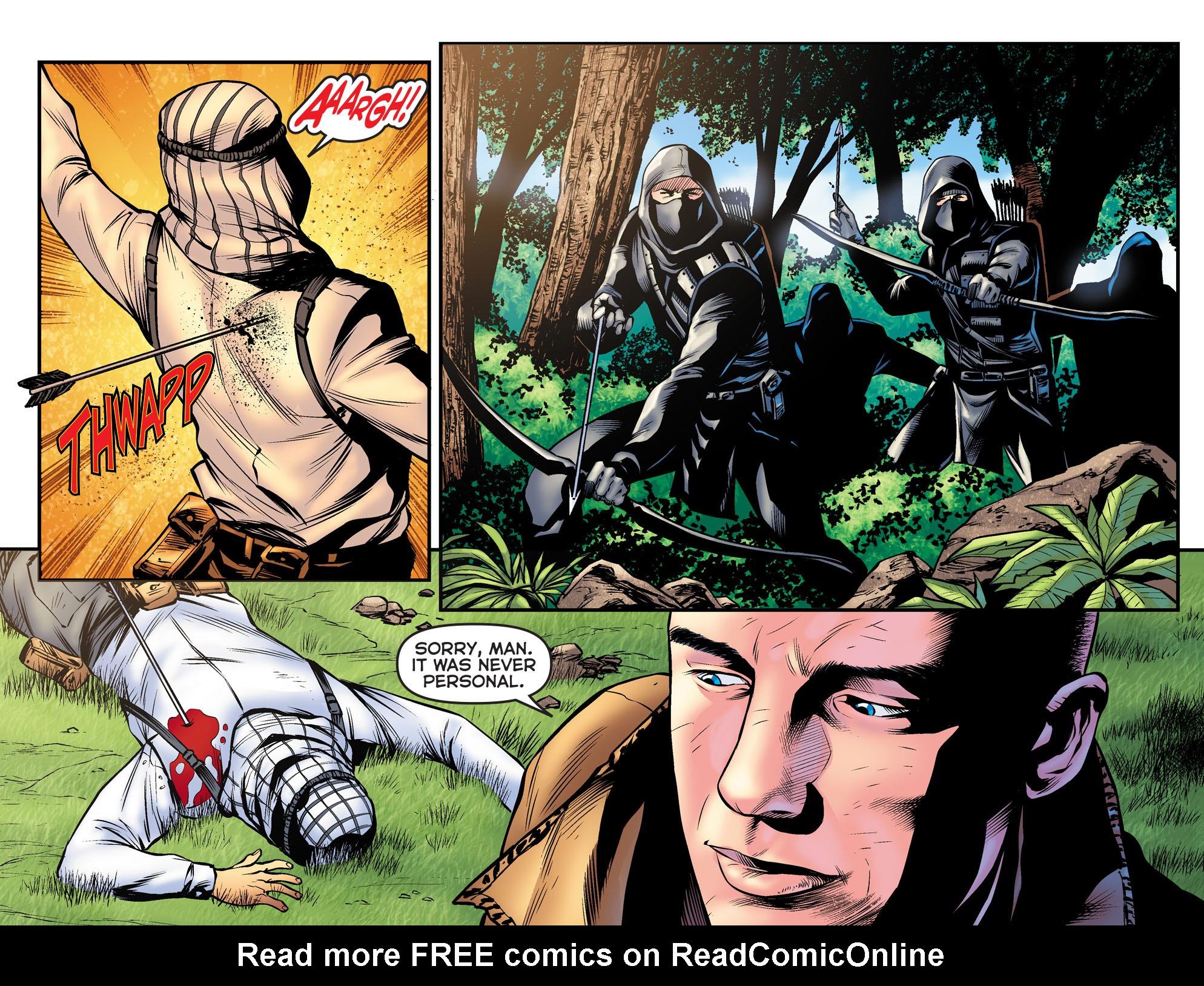 Read online Arrow: The Dark Archer comic -  Issue #9 - 9
