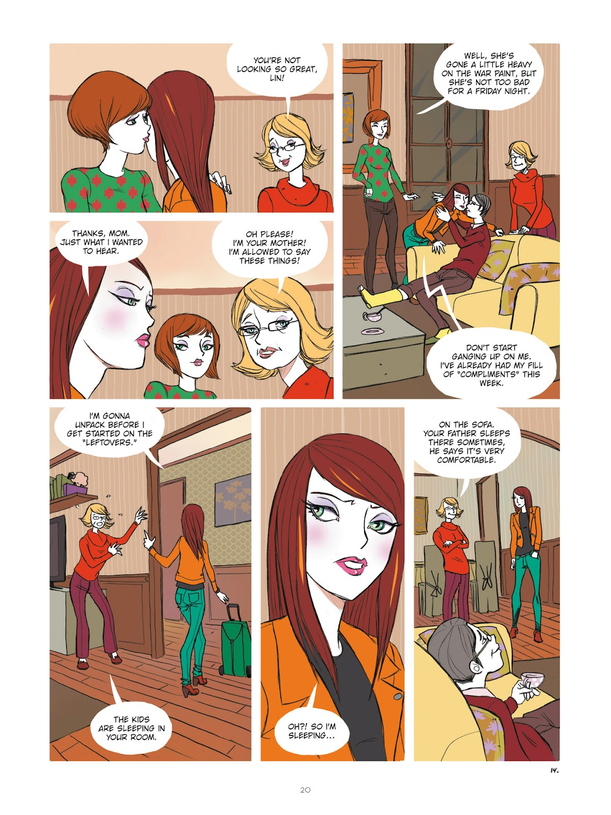 Read online Diary of A Femen comic -  Issue # TPB - 22
